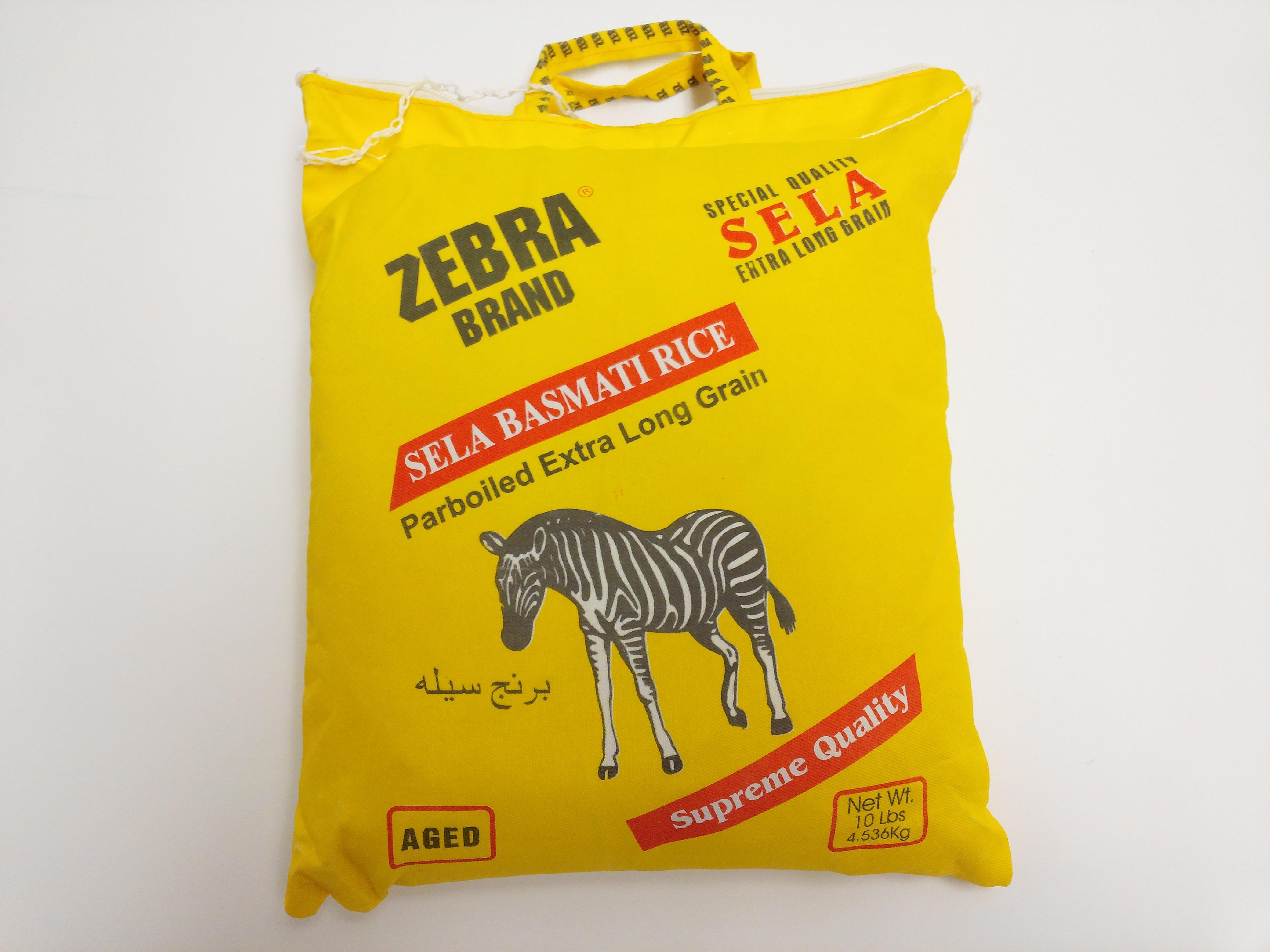 Zebra Sela Basmati Rice 10lb