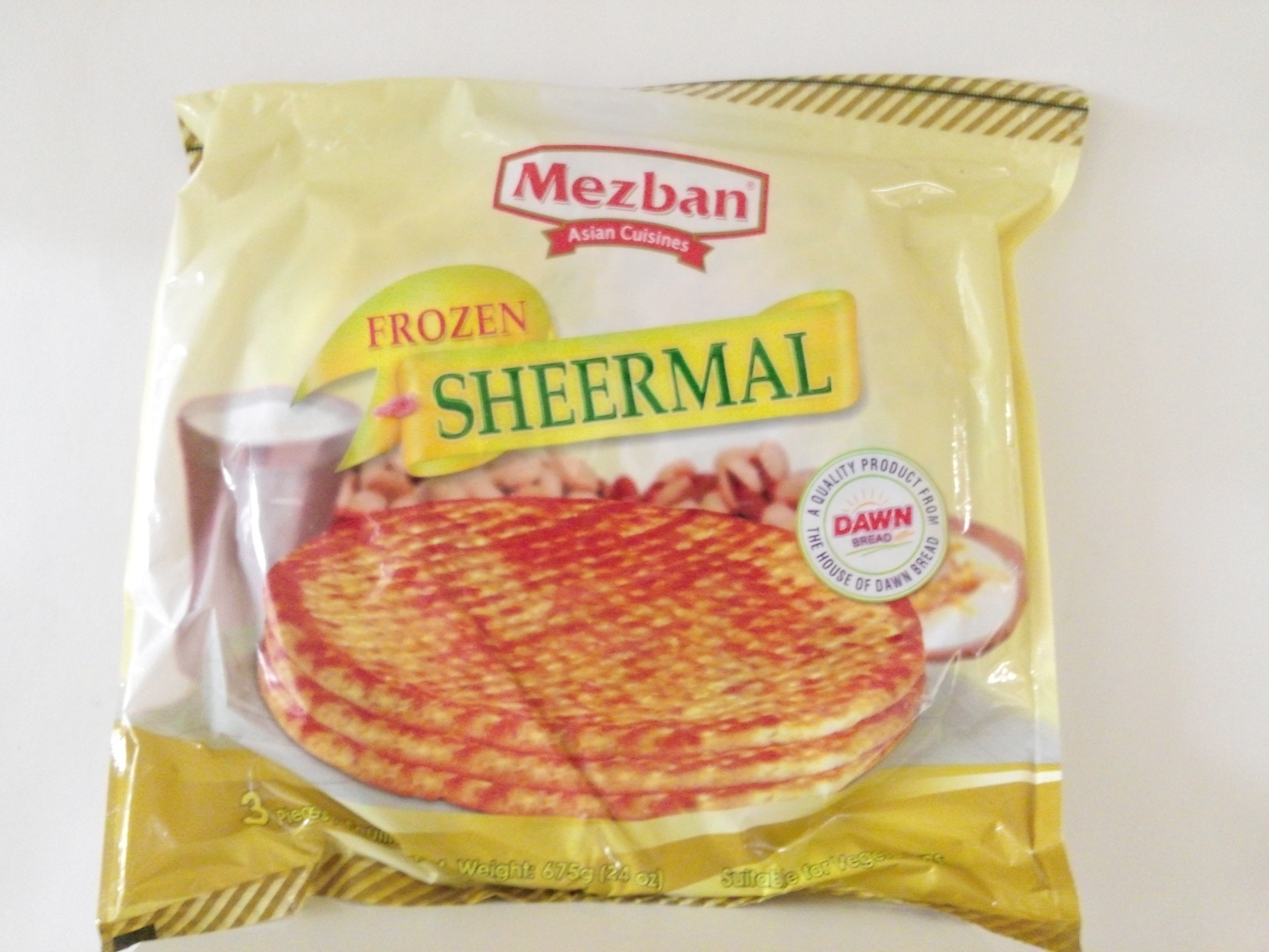 Mezban's Sheermal 3 Pcs 23.30 oz