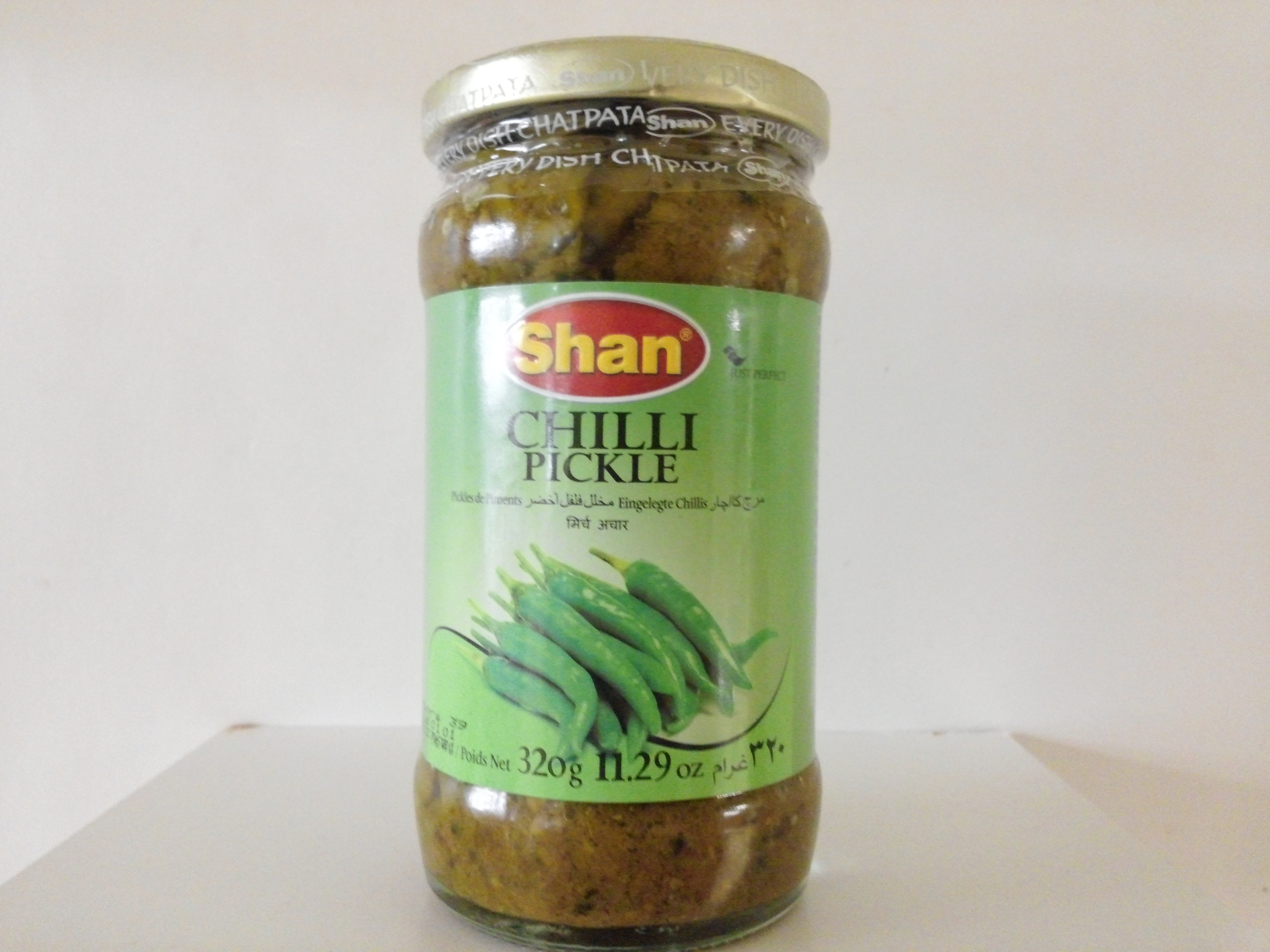 Shan Chilli Pickle 320 grm
