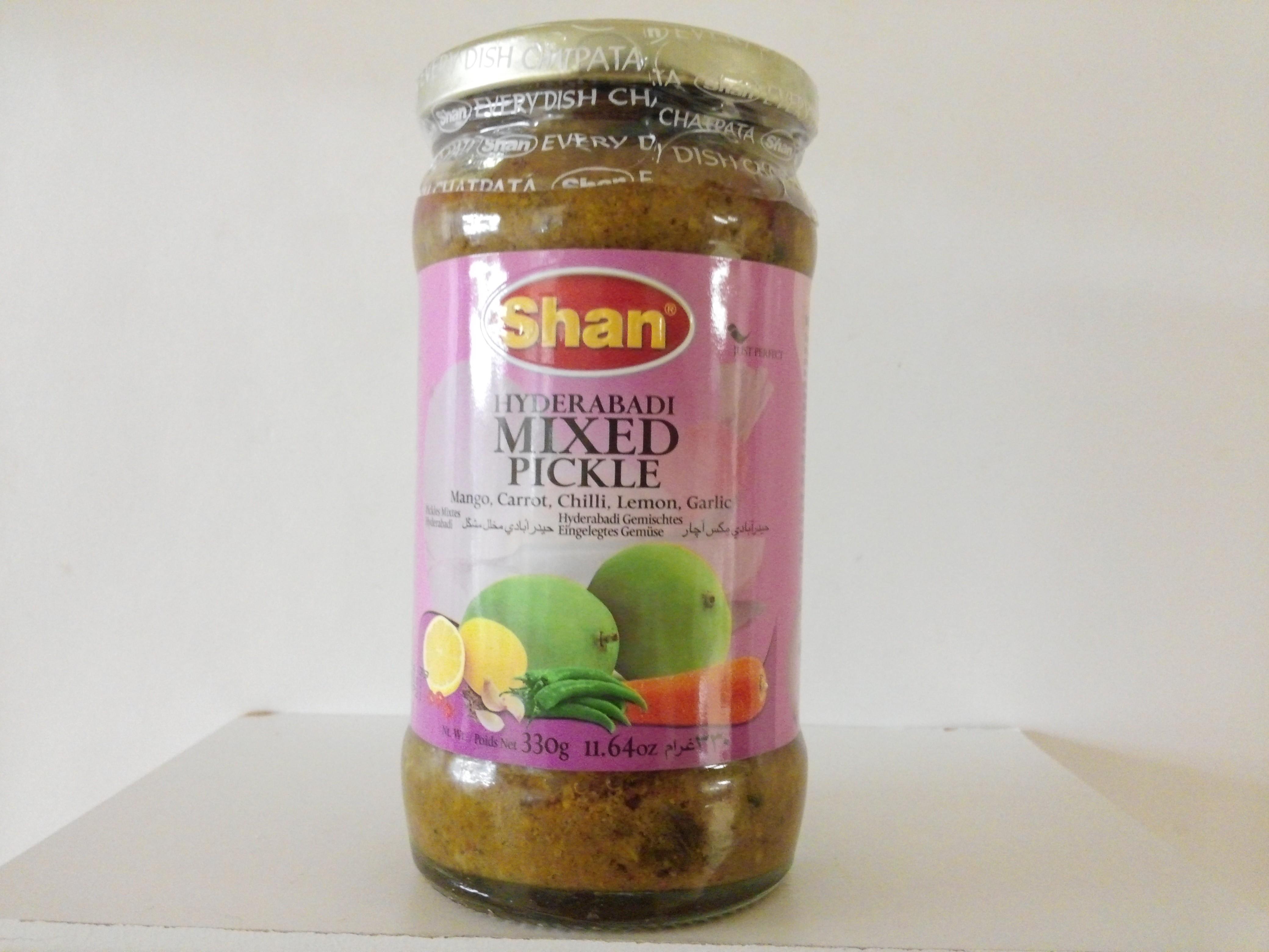 Shan Hyderabadi Mixed Pickle 330 grm