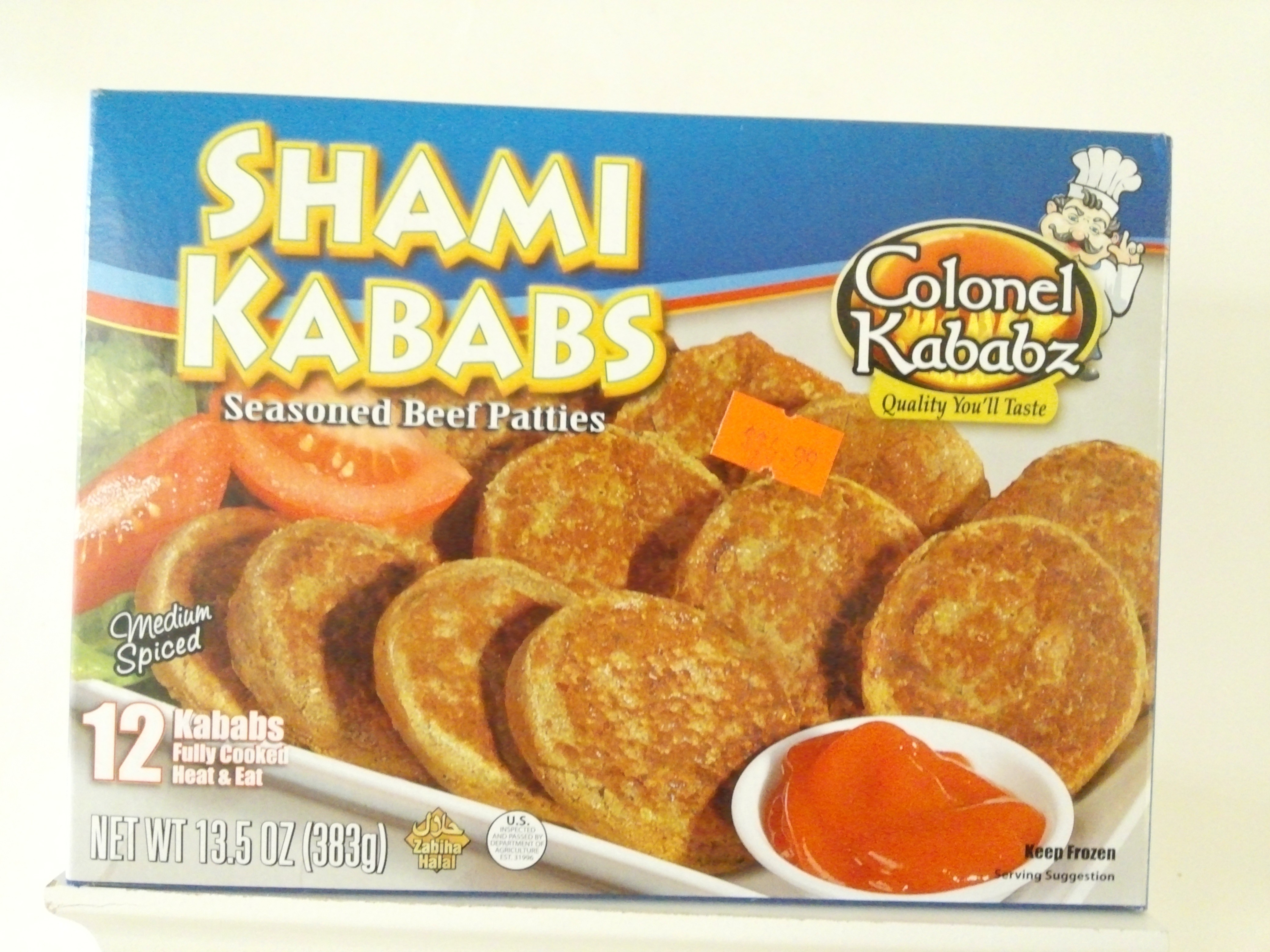 Colonel Beef Seekh Kababs 8 pcs 312 grm