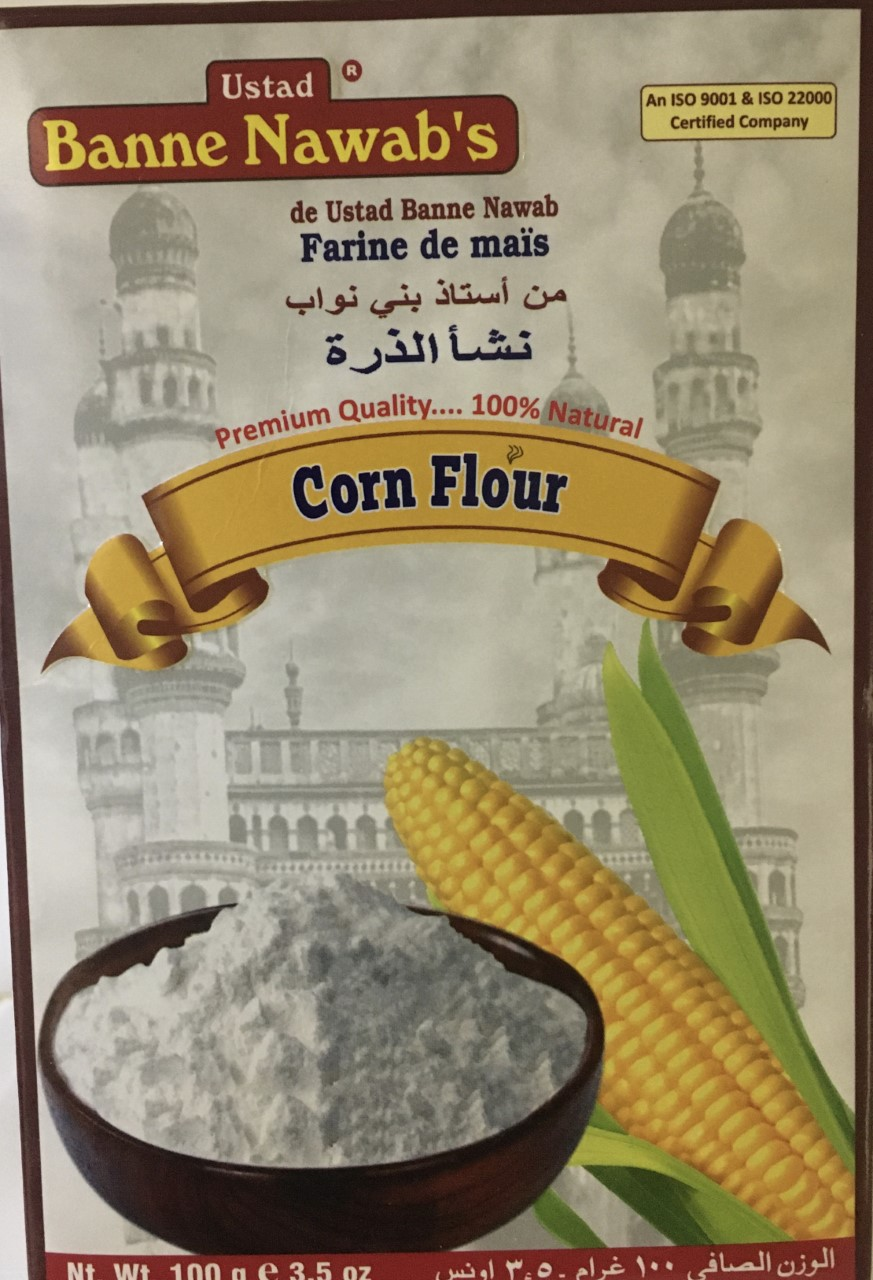 Banne Nawab's Corn Flour 3.50 oz