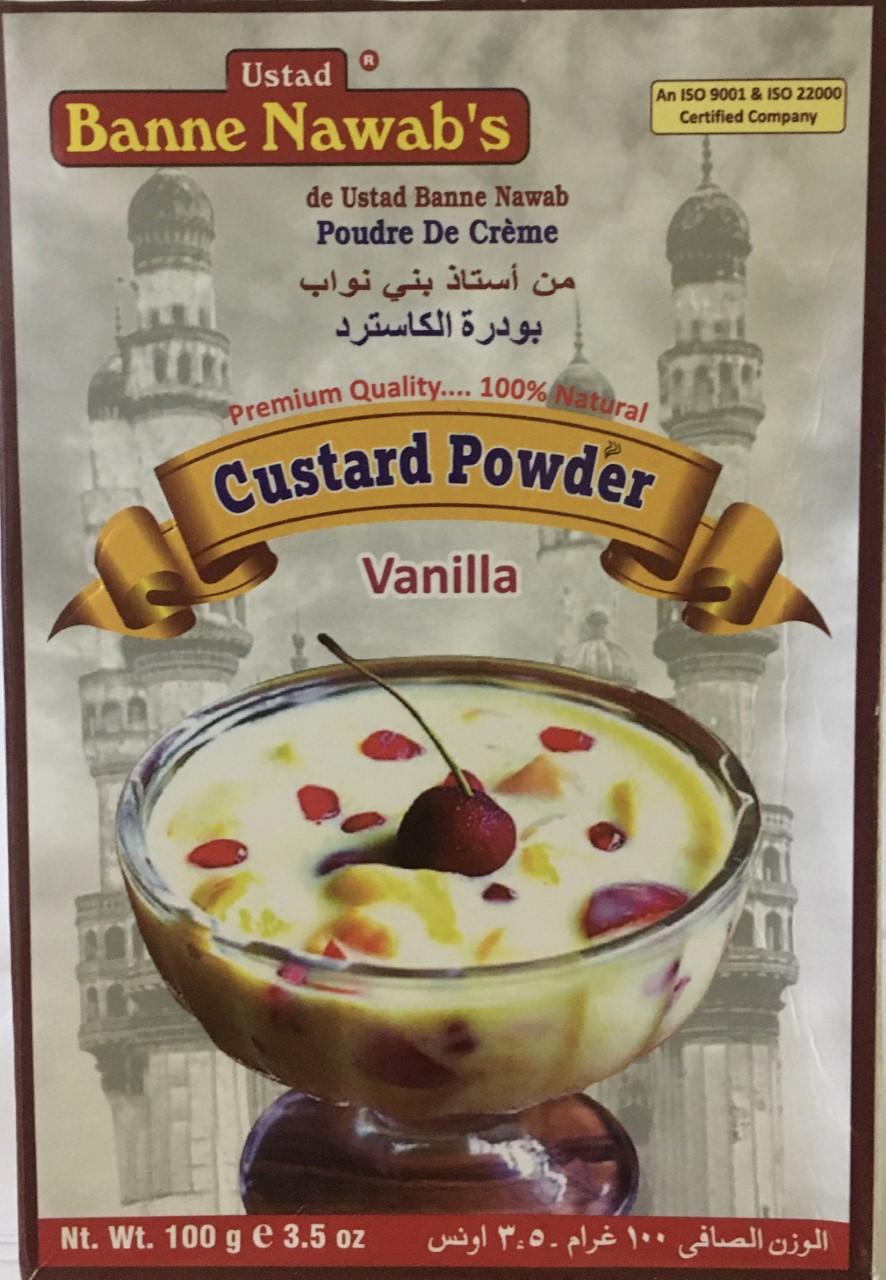 Banne Nawab's Custard Powder Vanila 3.5 oz