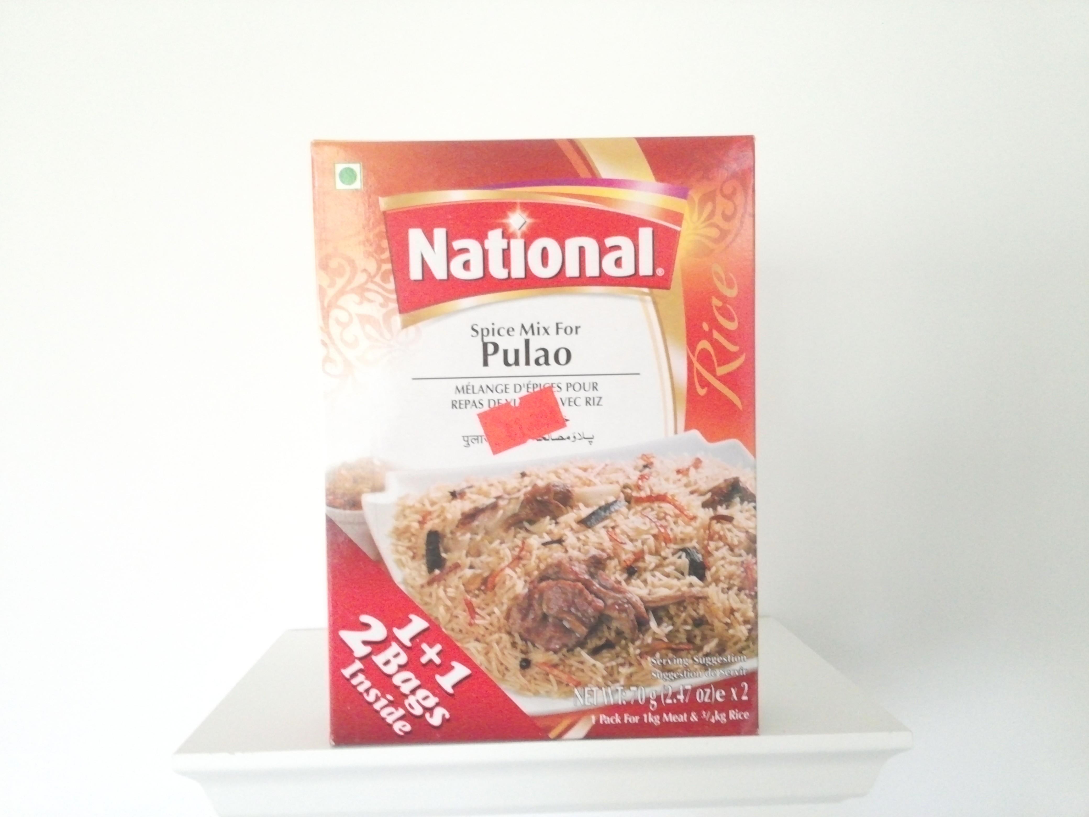 National Pulao Spice Mix 140 grm