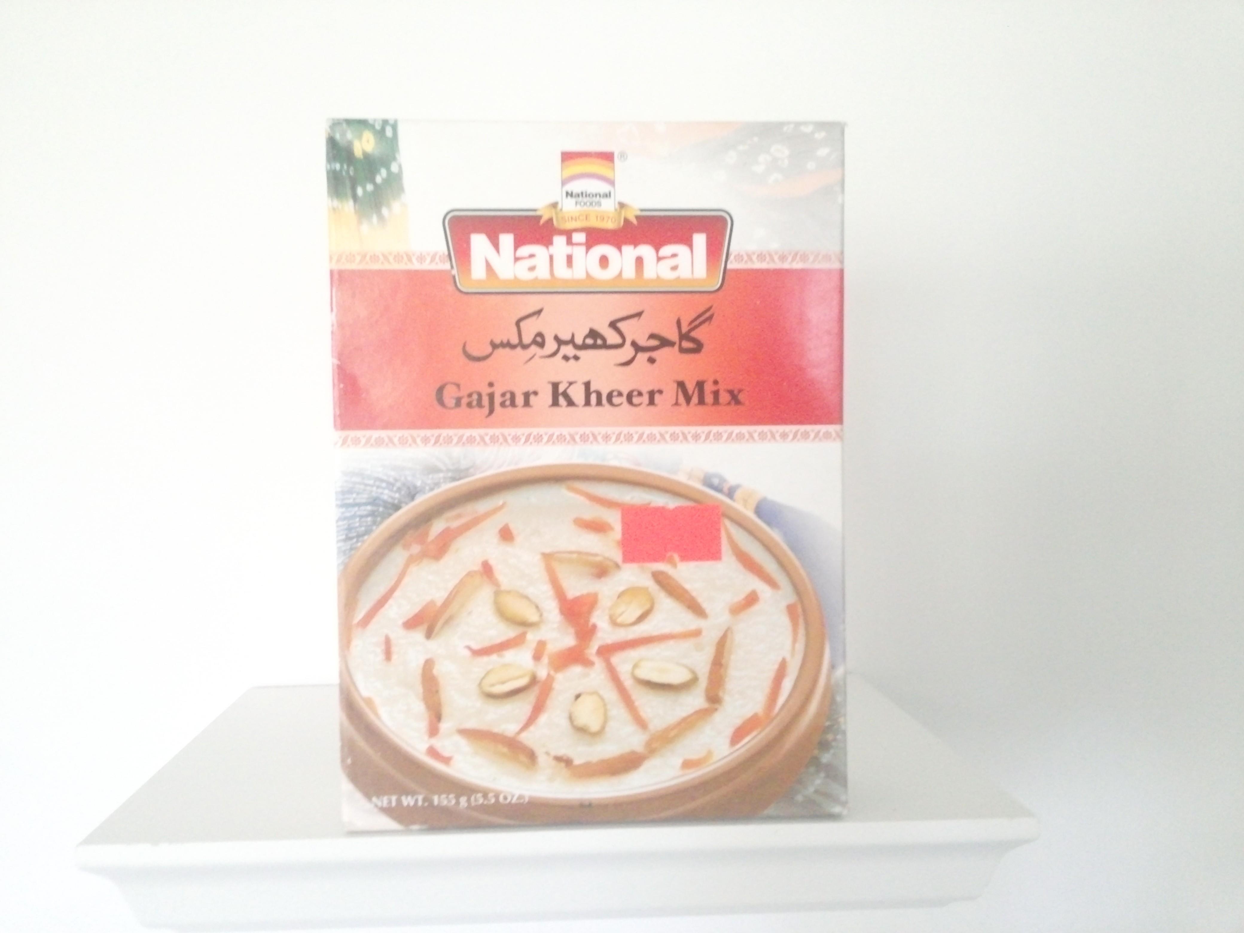 National Gajar Kheer Mix155 grm