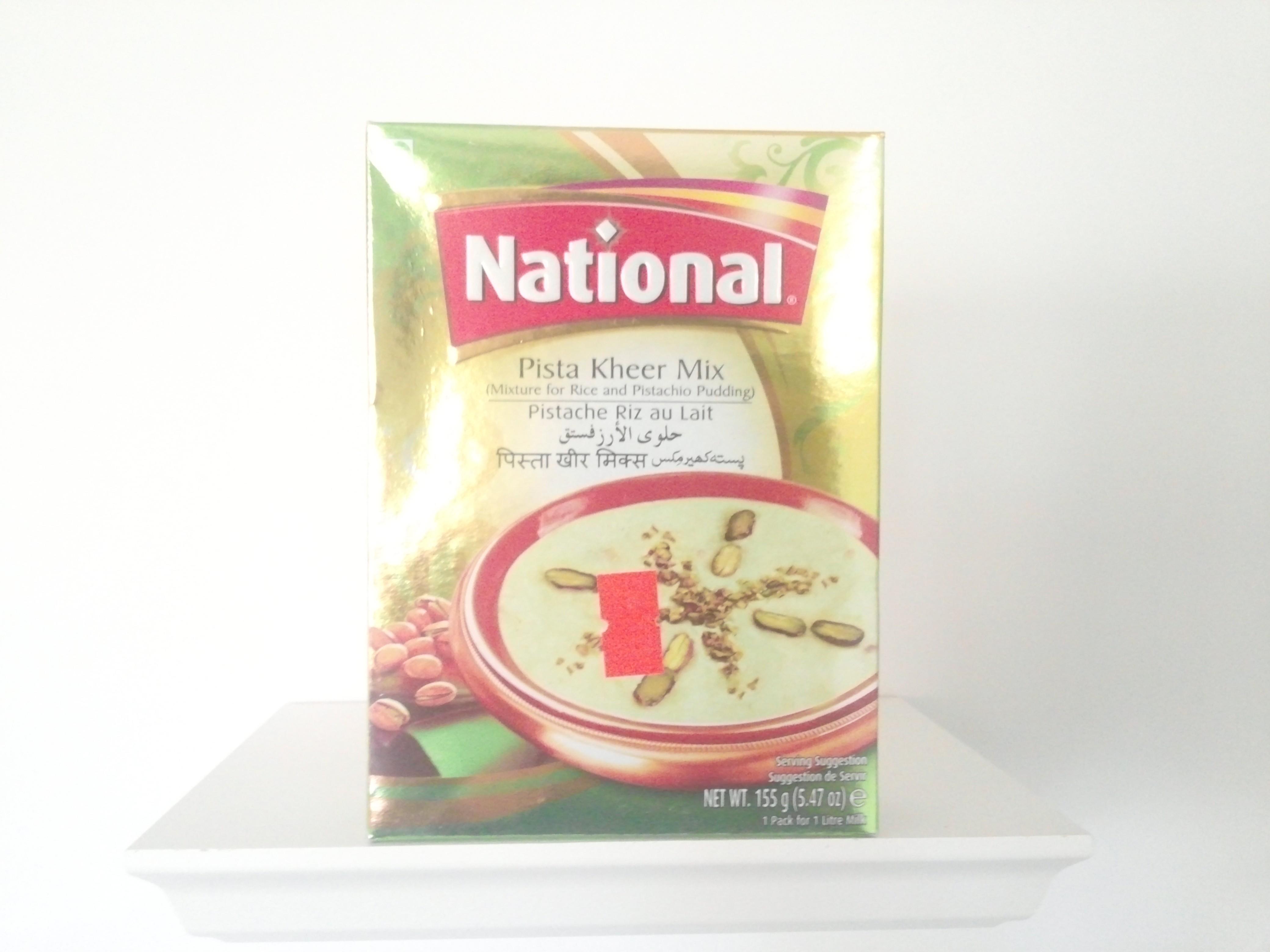 National Pista Kheer Mix155 grm