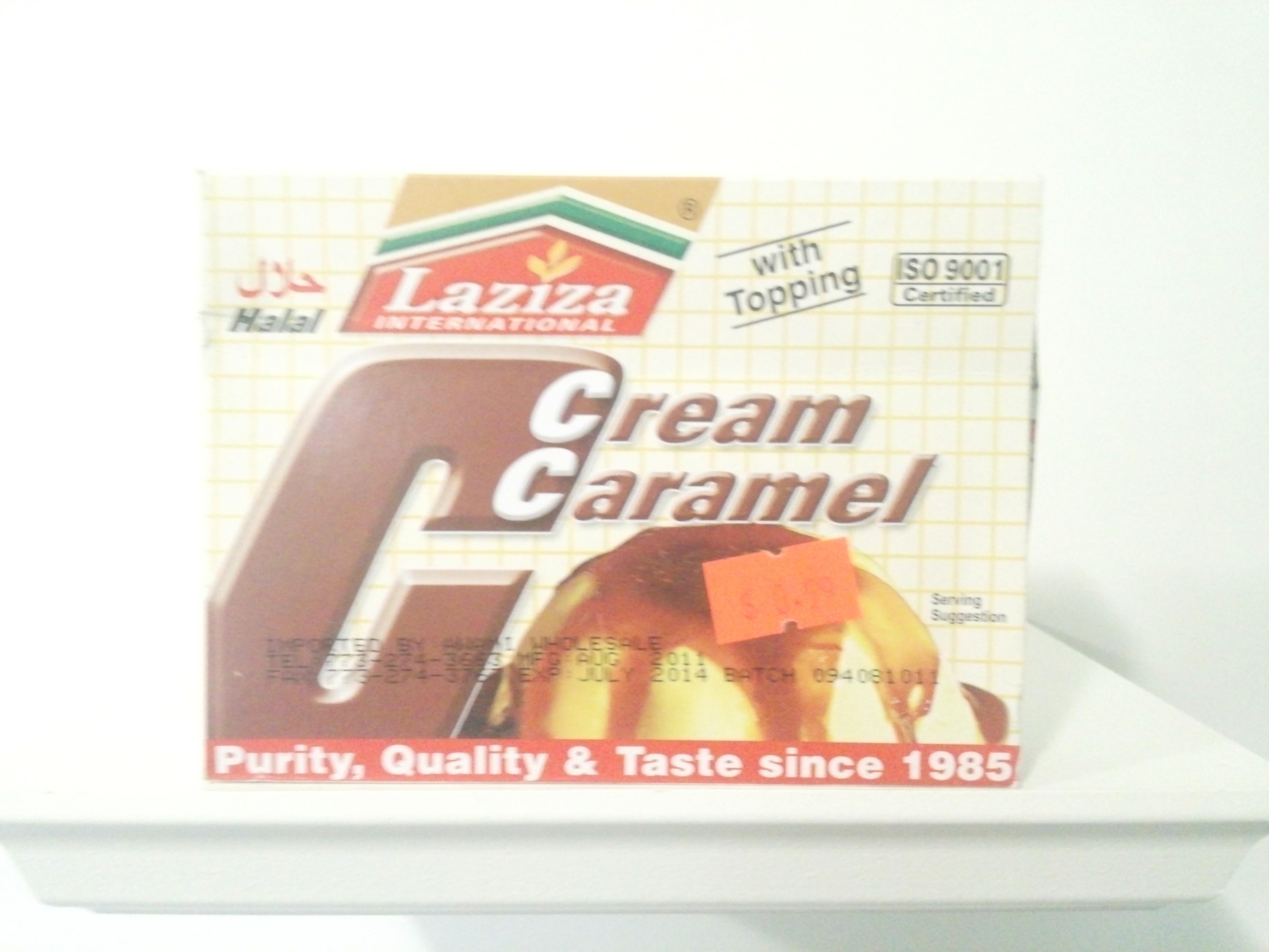 Laziza Cream Caramel Mix 85 grm