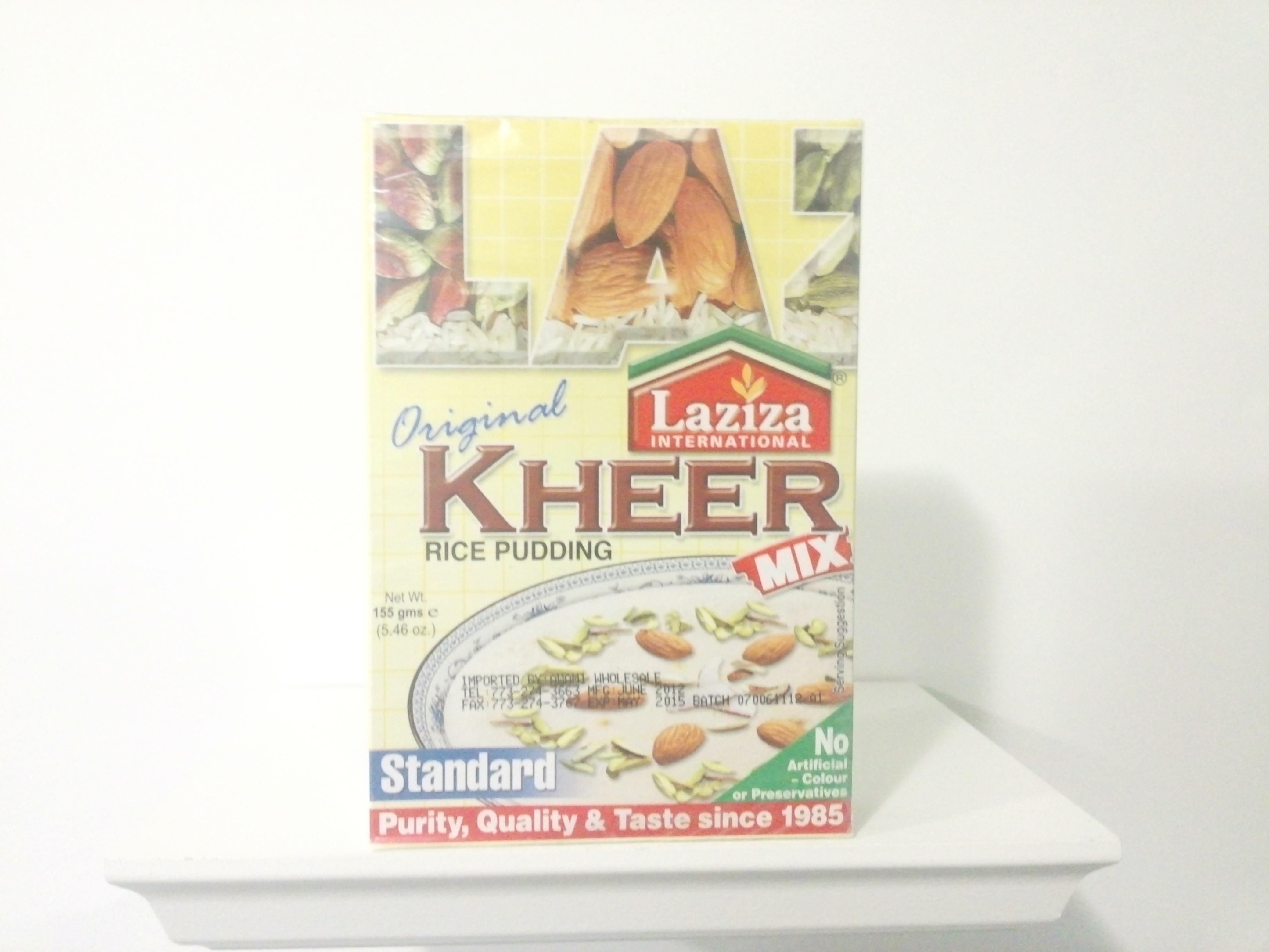 Laziza Kheer Mix (Standard) 155 grm