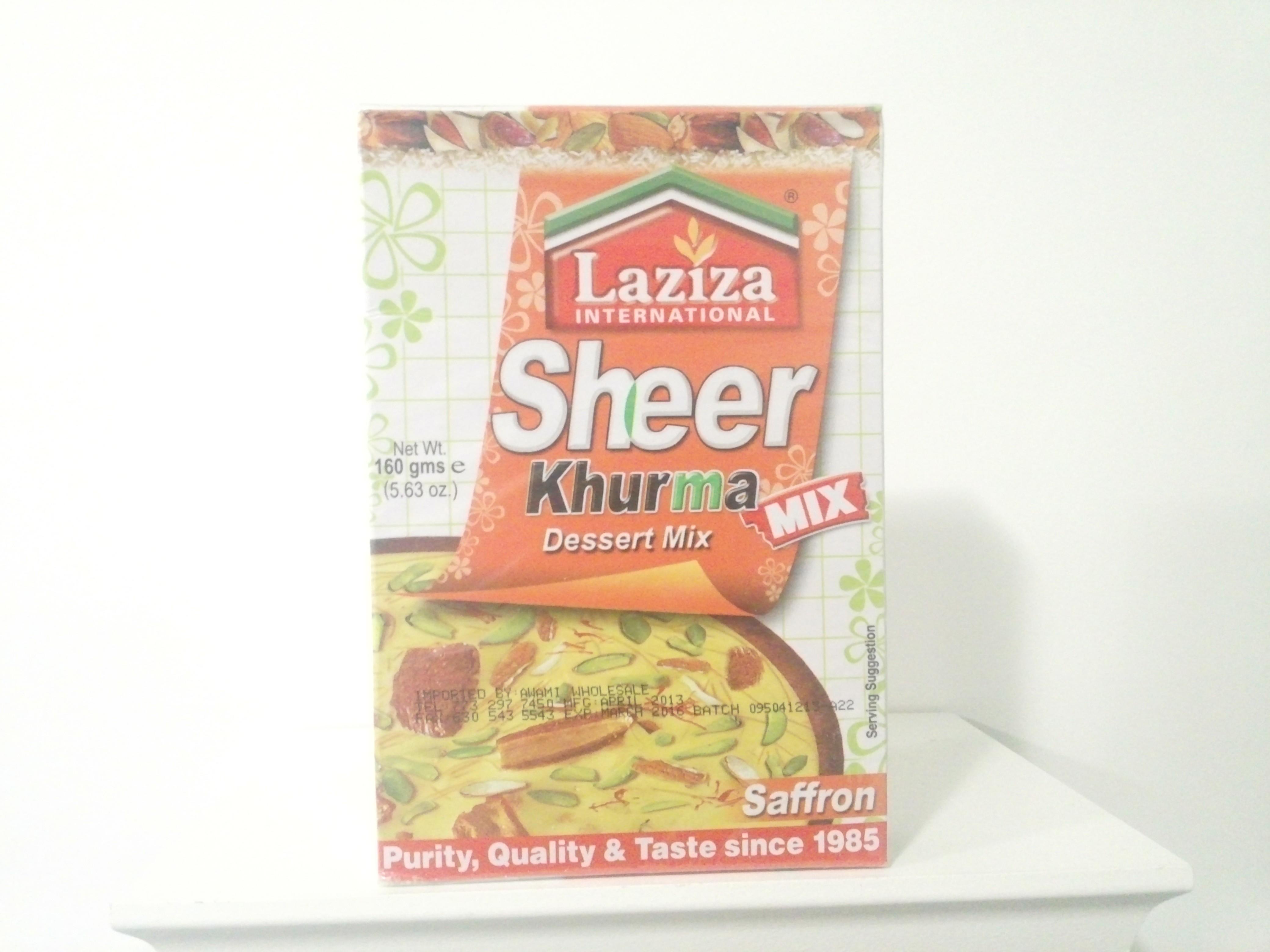 Laziza Sheer Khurma Mix(Saffron) 160 grm