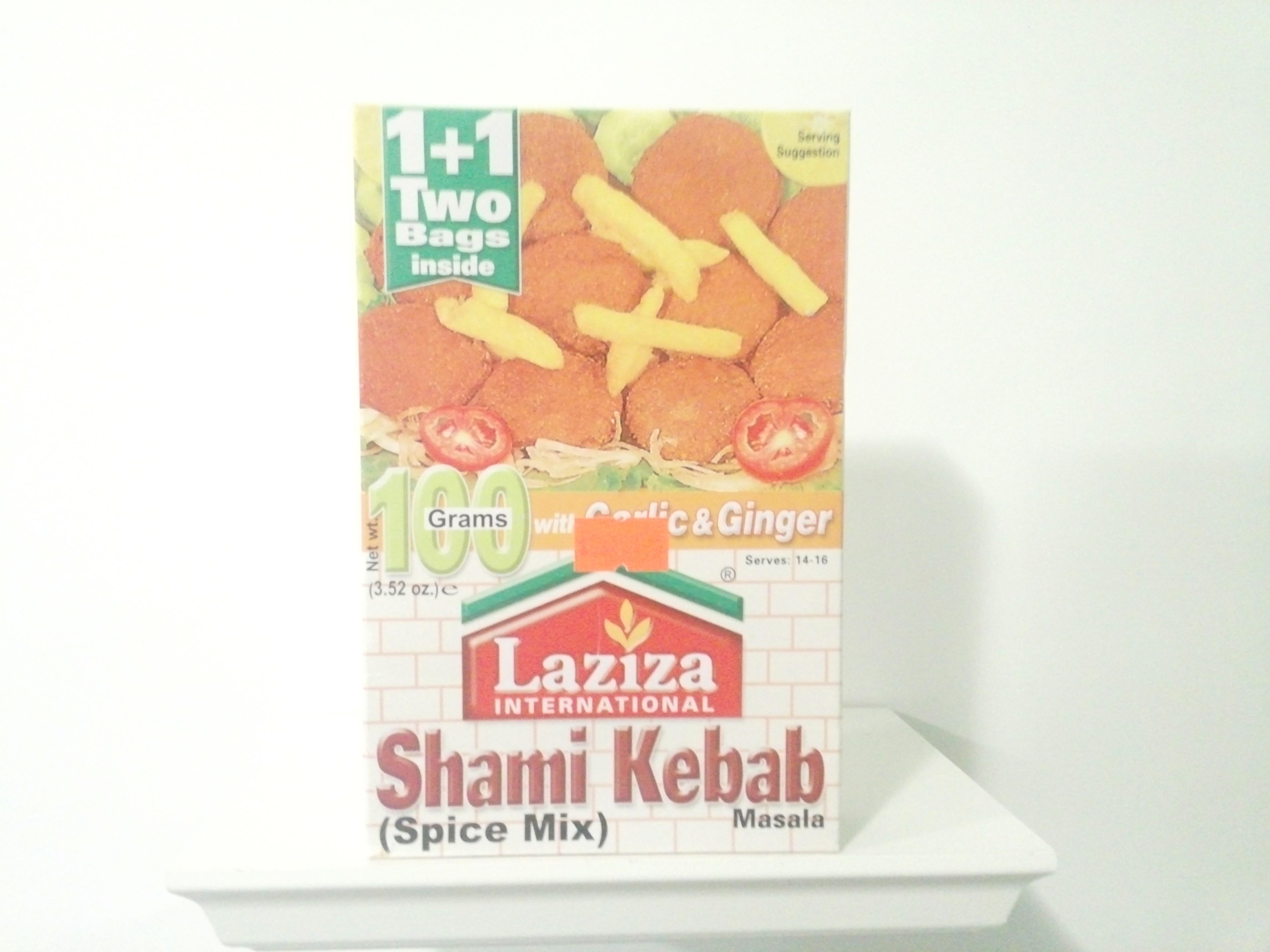 Laziza Shami Kebab Spice Mix 100 grm