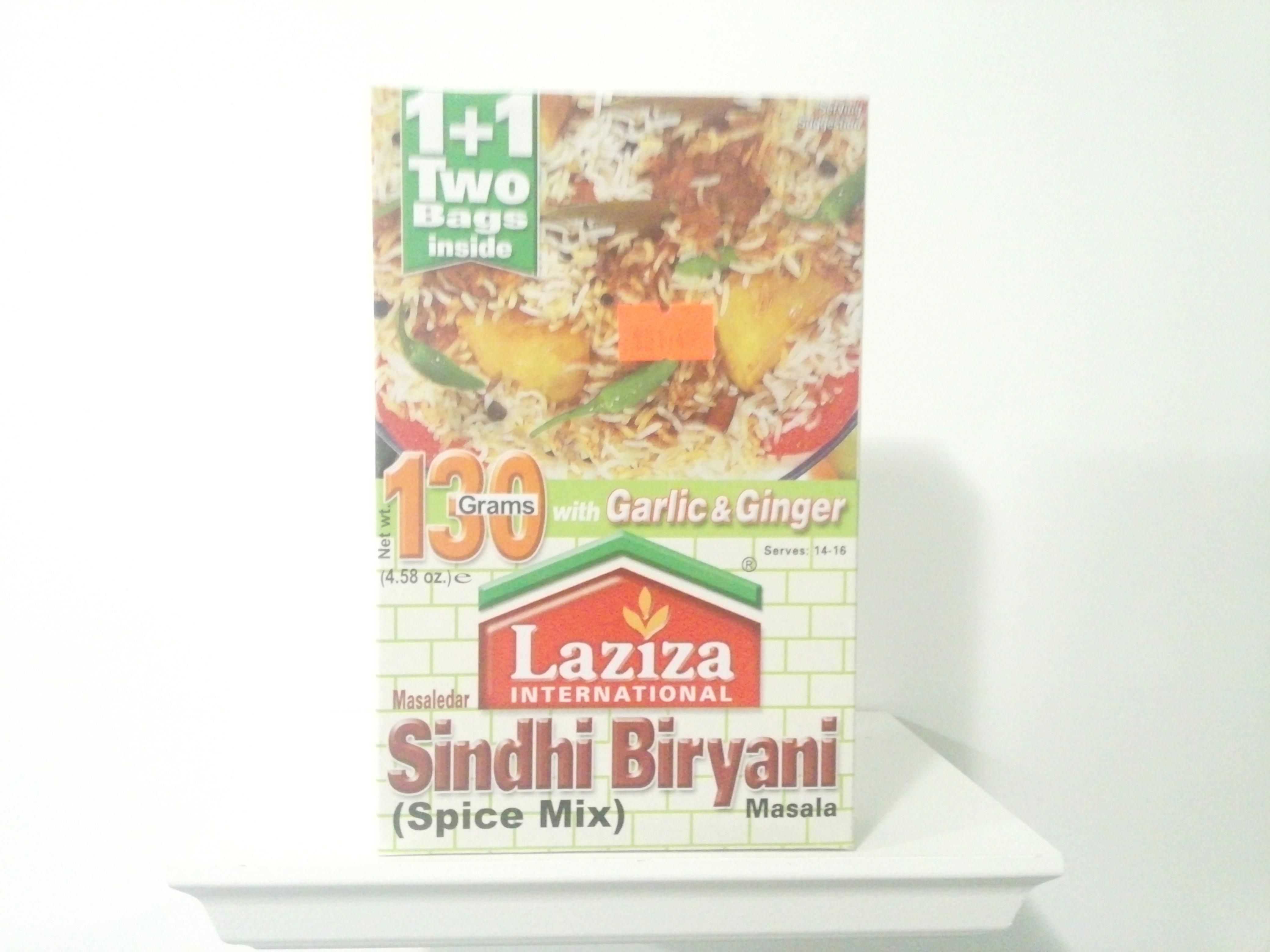 Laziza Sindhi Biryani Spice Mix 130 grm