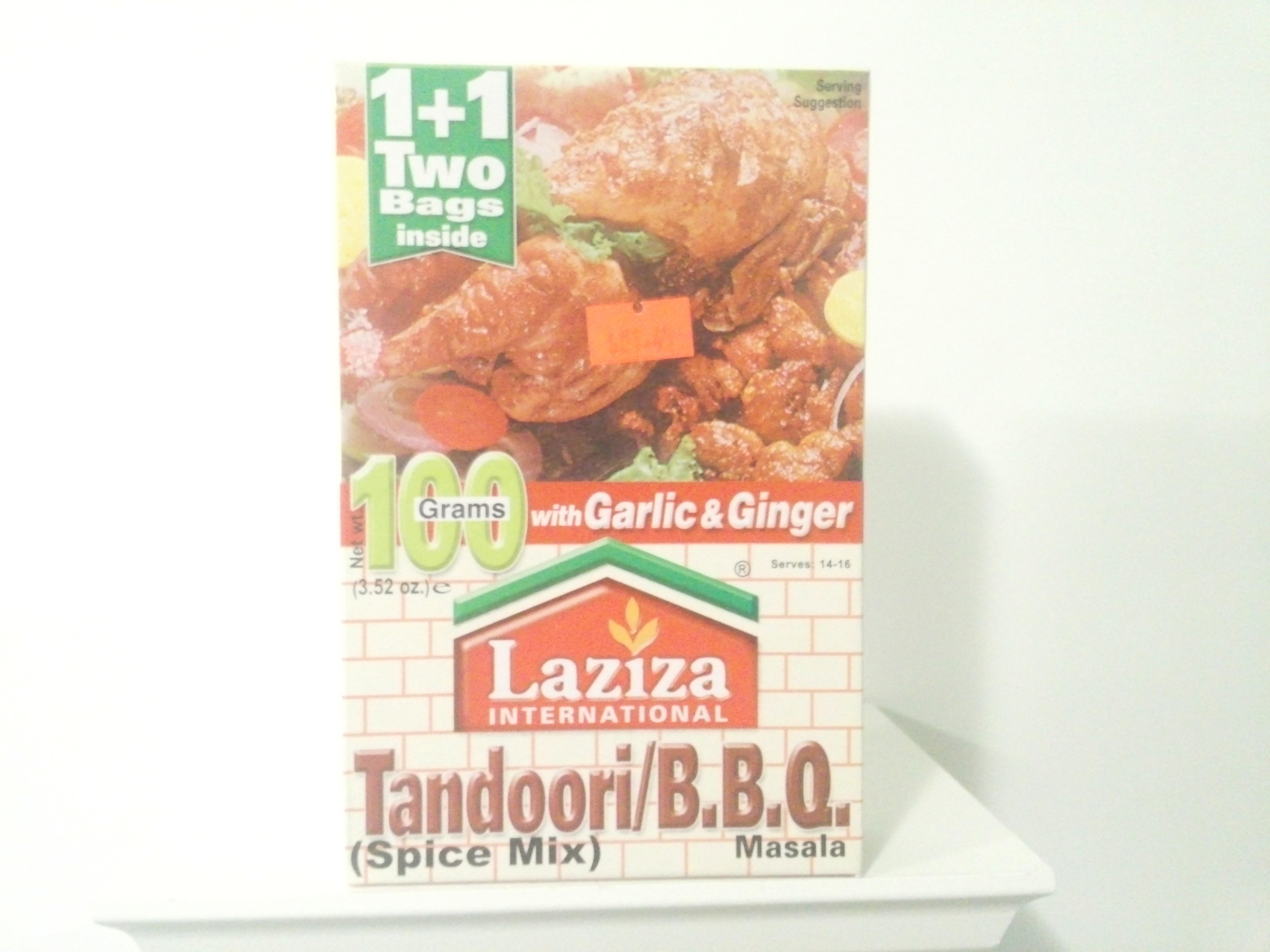 Laziza Tandoori BBQ Spice Mix 100 grm