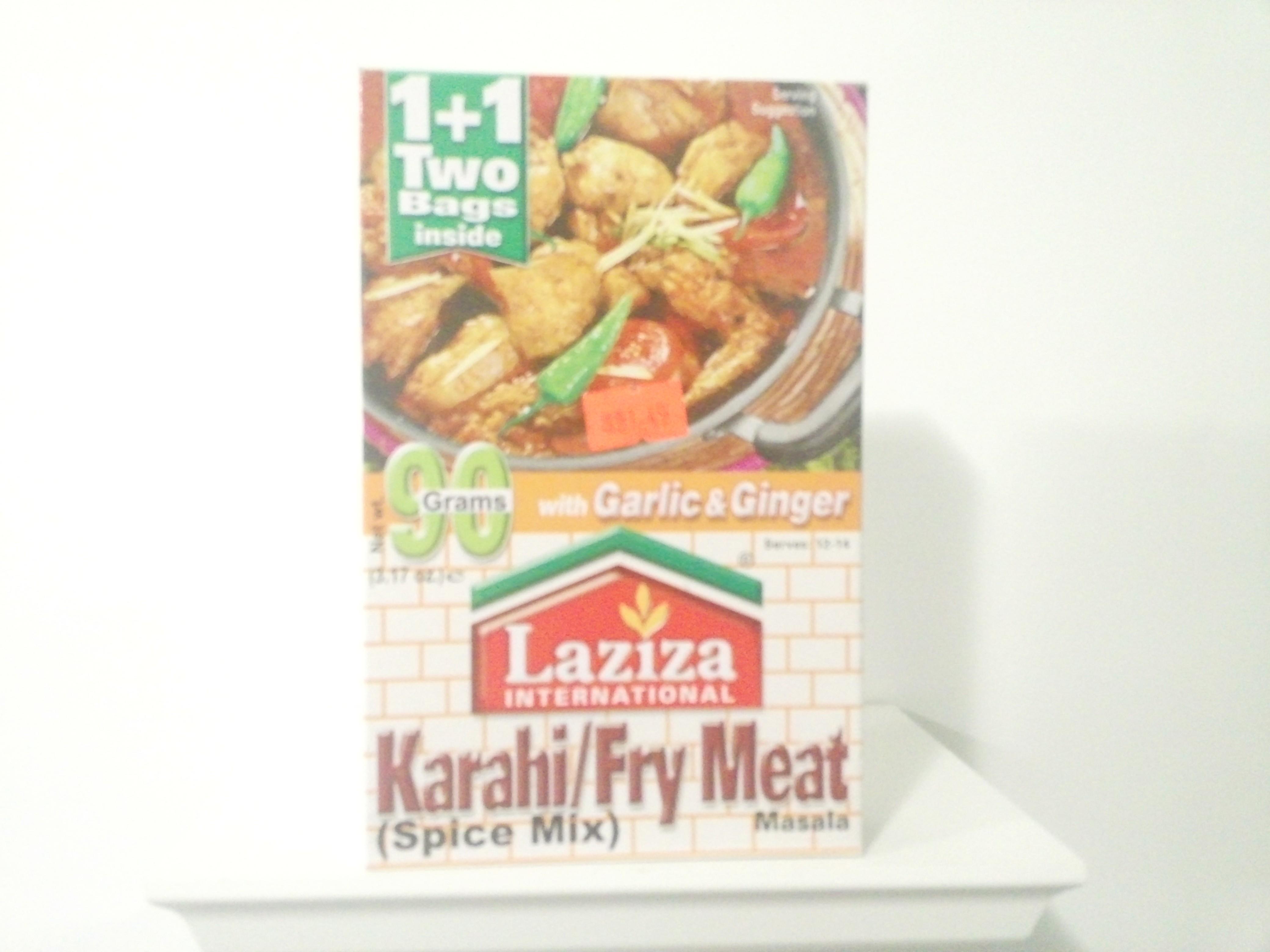 Laziza Karahi/Fry Meat Spice Mix 90 grm