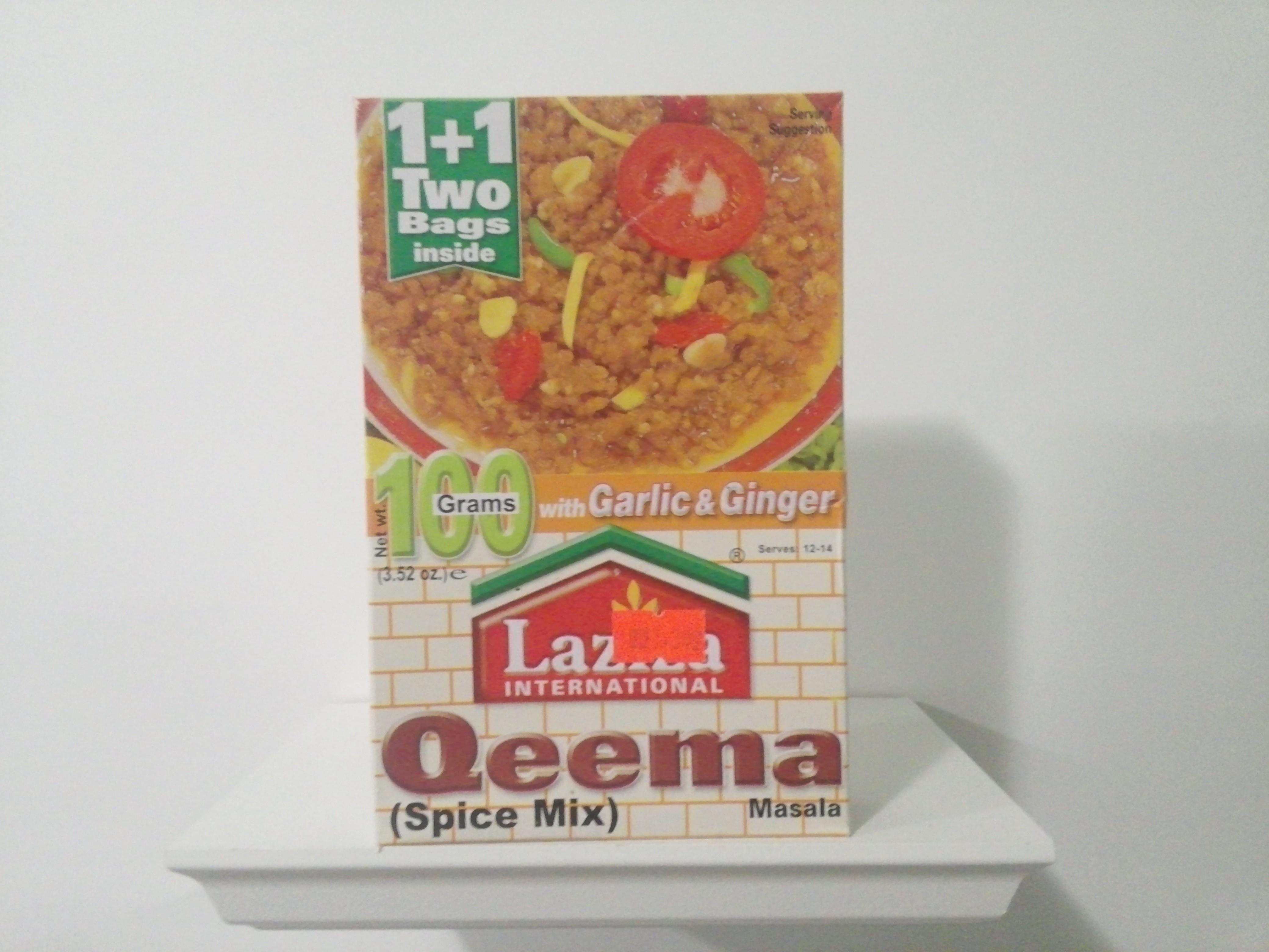 Laziza Qeema Spice Mix 100 grm