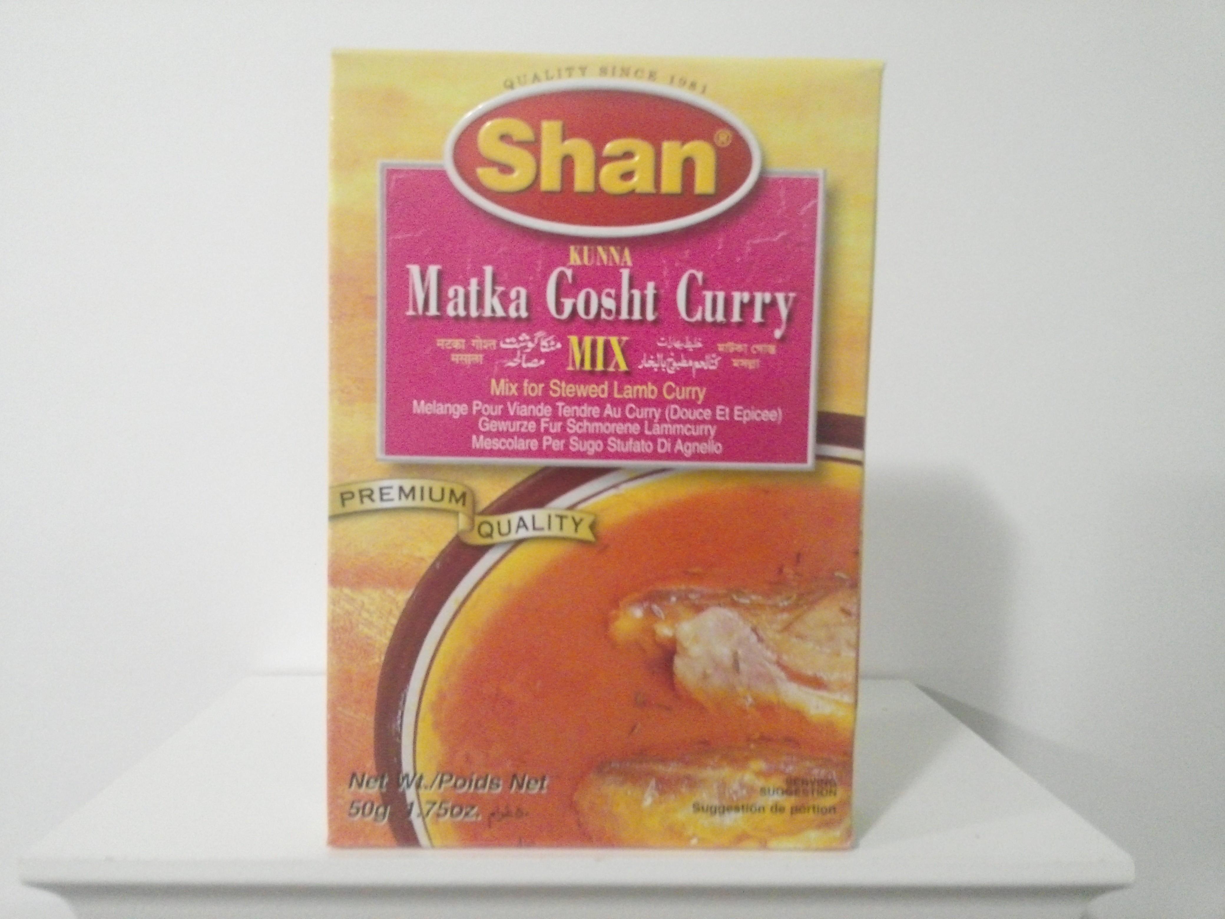 Shan Matka Gosht Curry Spice Mix 50 grm