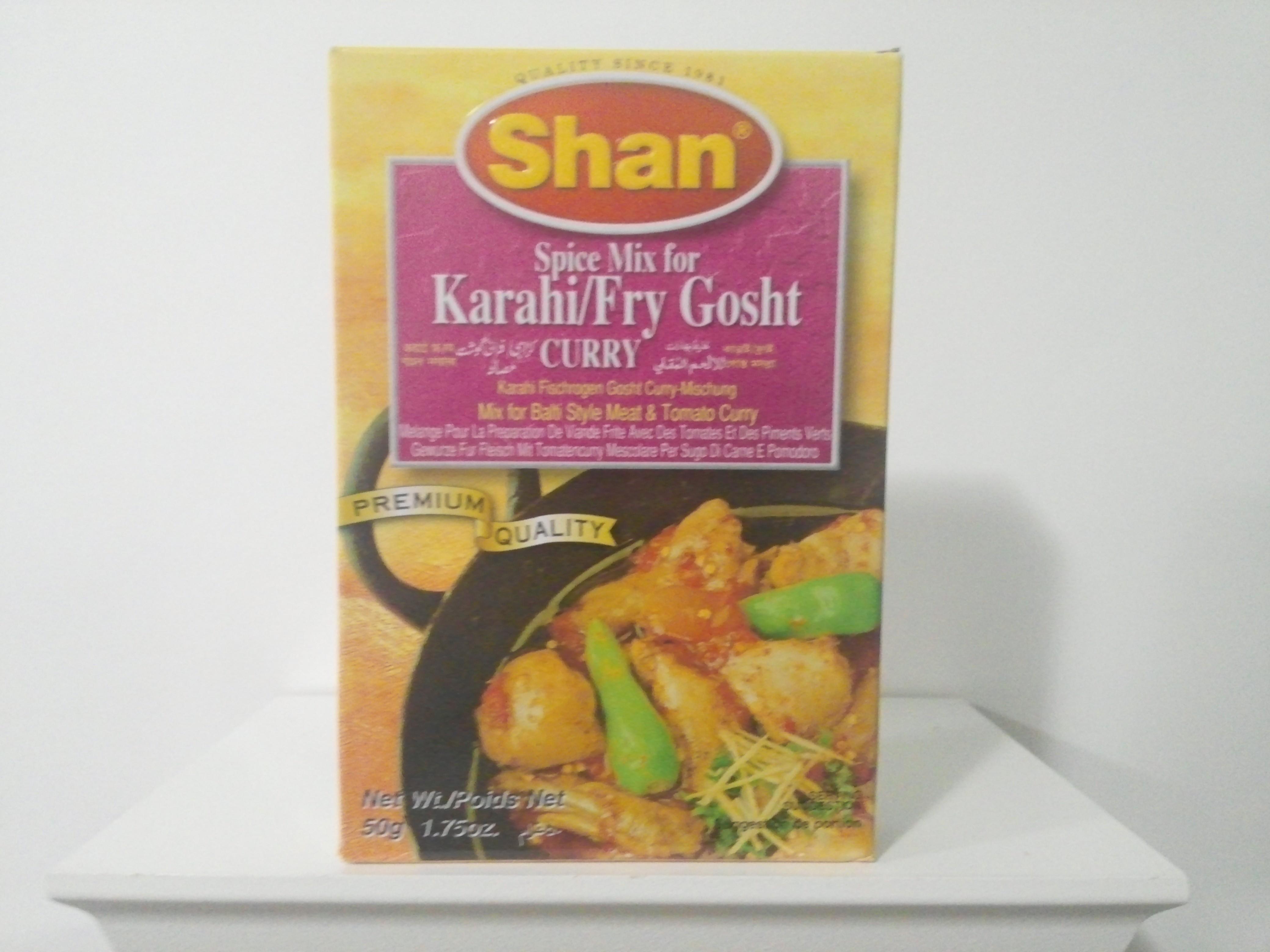 Shan Karahi/Fry Gosht Spice Mix 50 grm