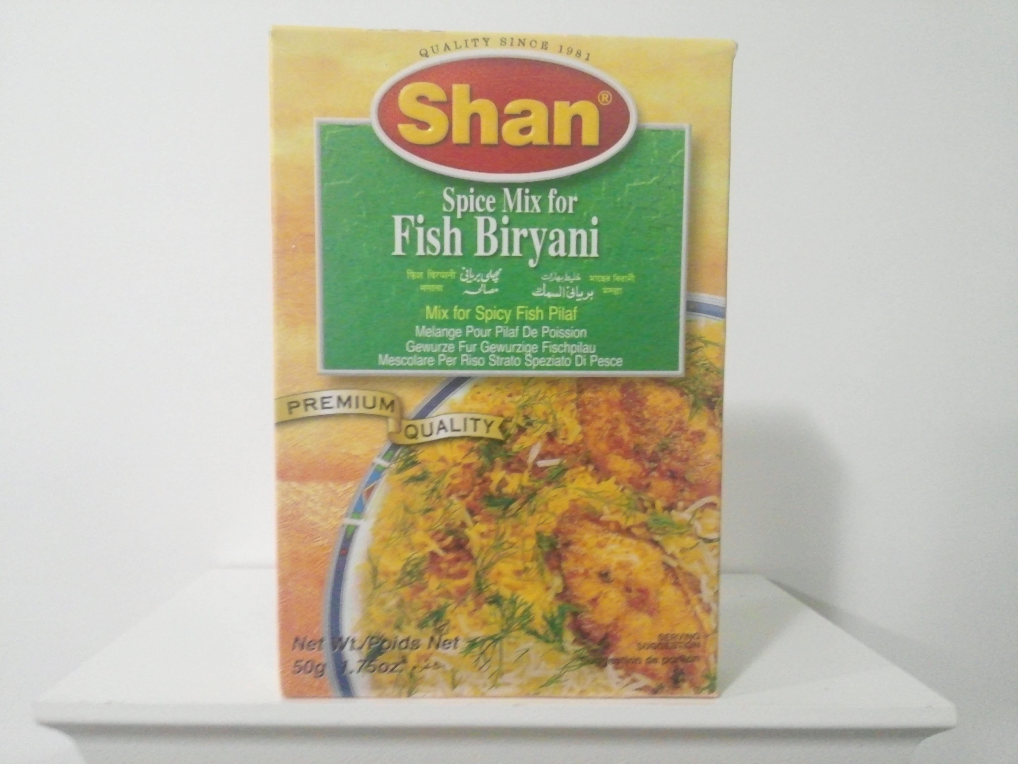 Shan Fish Biryani Spice Mix 50 grm