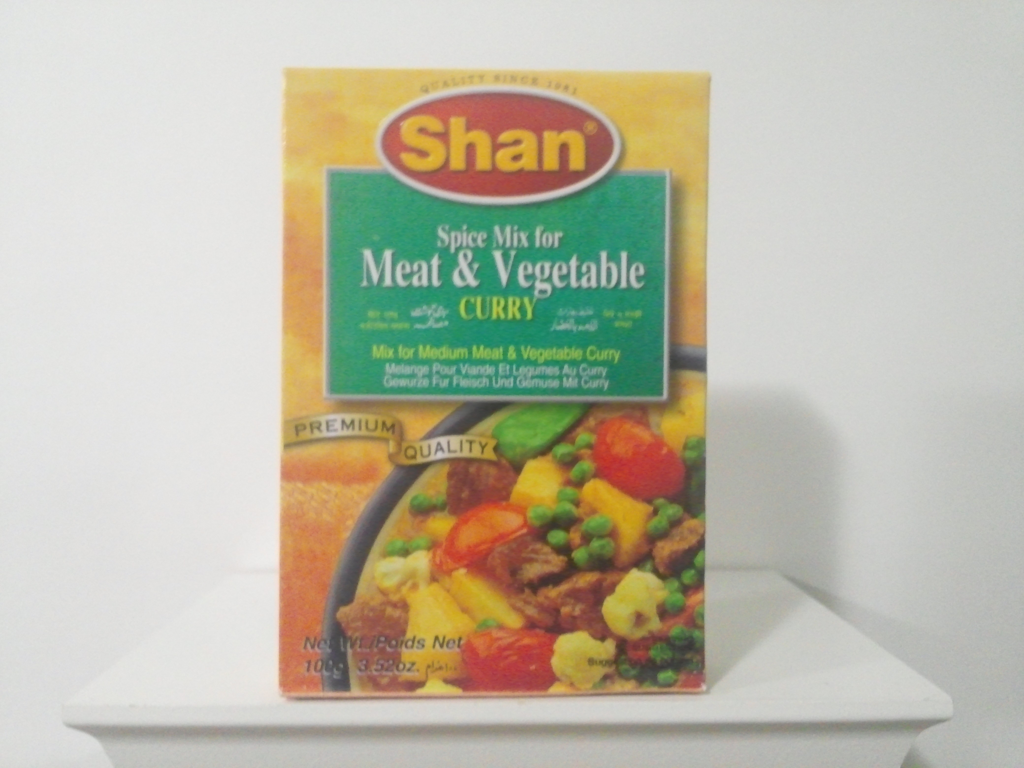 Shan Meat & Vegetable Curry Spice Mix 100 grm