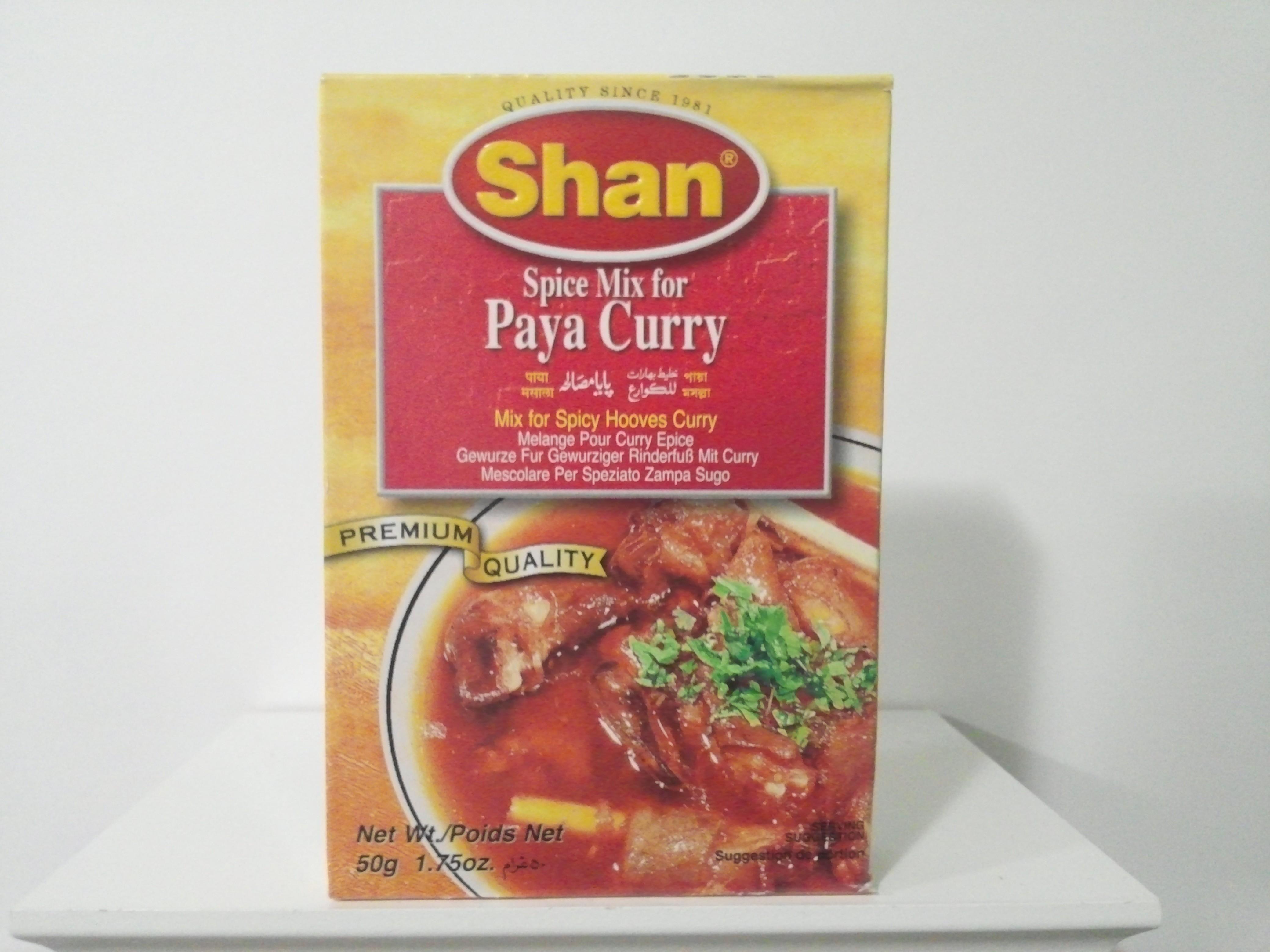 Shan Paya Curry Spice Mix 50 grm