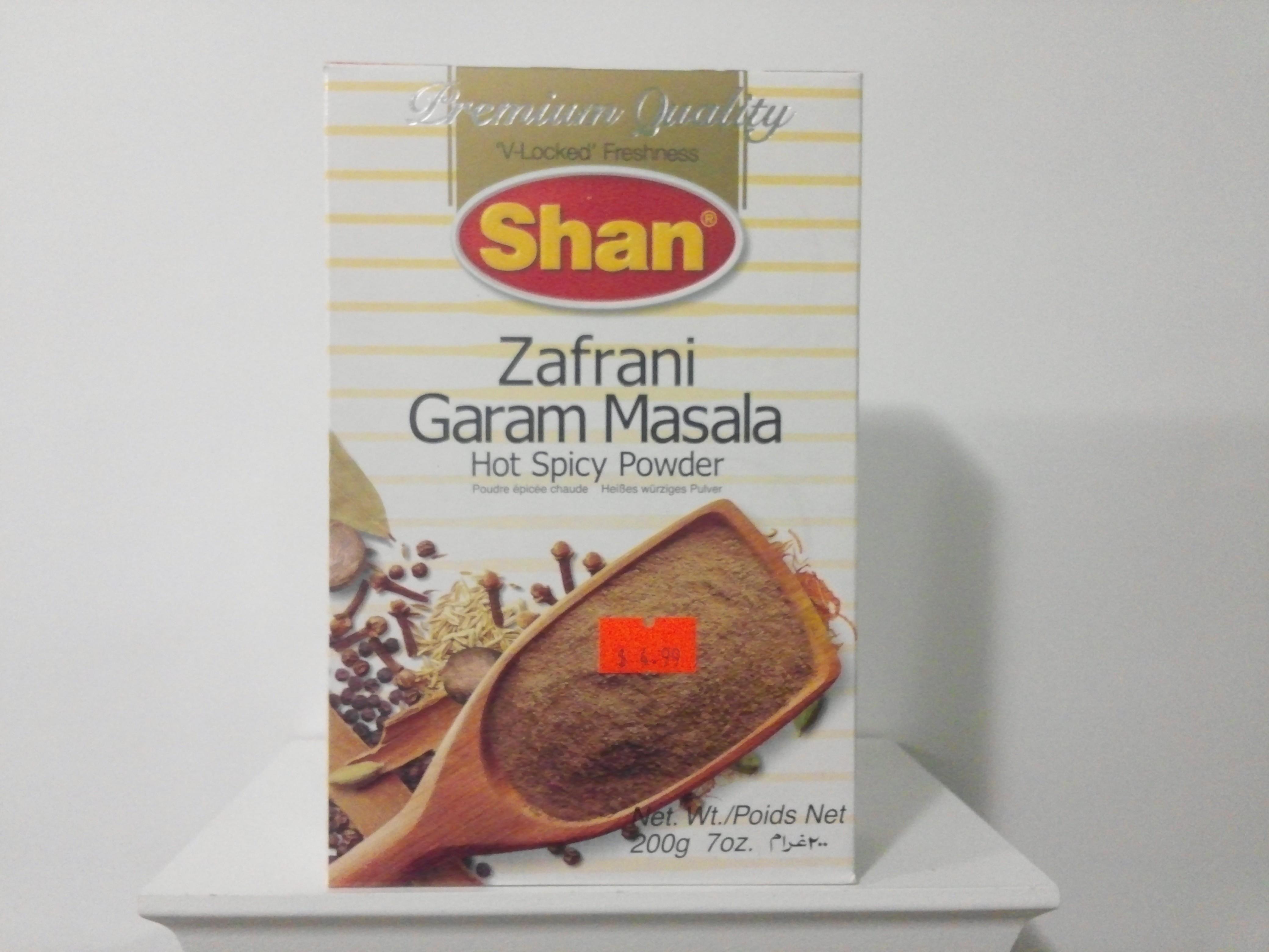 Shan Zafrani Garam Masala Spice Mix 100 grm