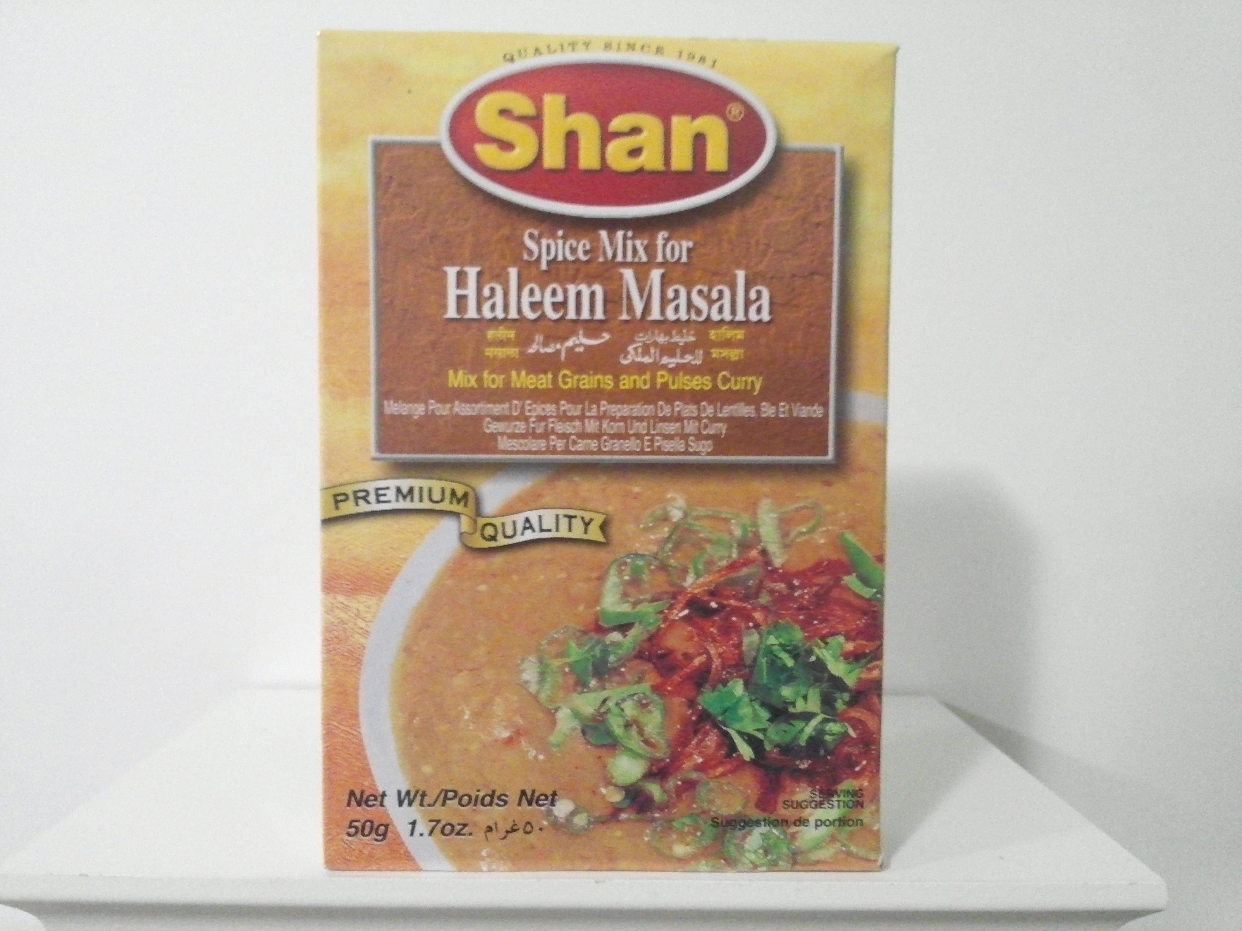 Shan Haleem Masala Spice Mix 50 grm