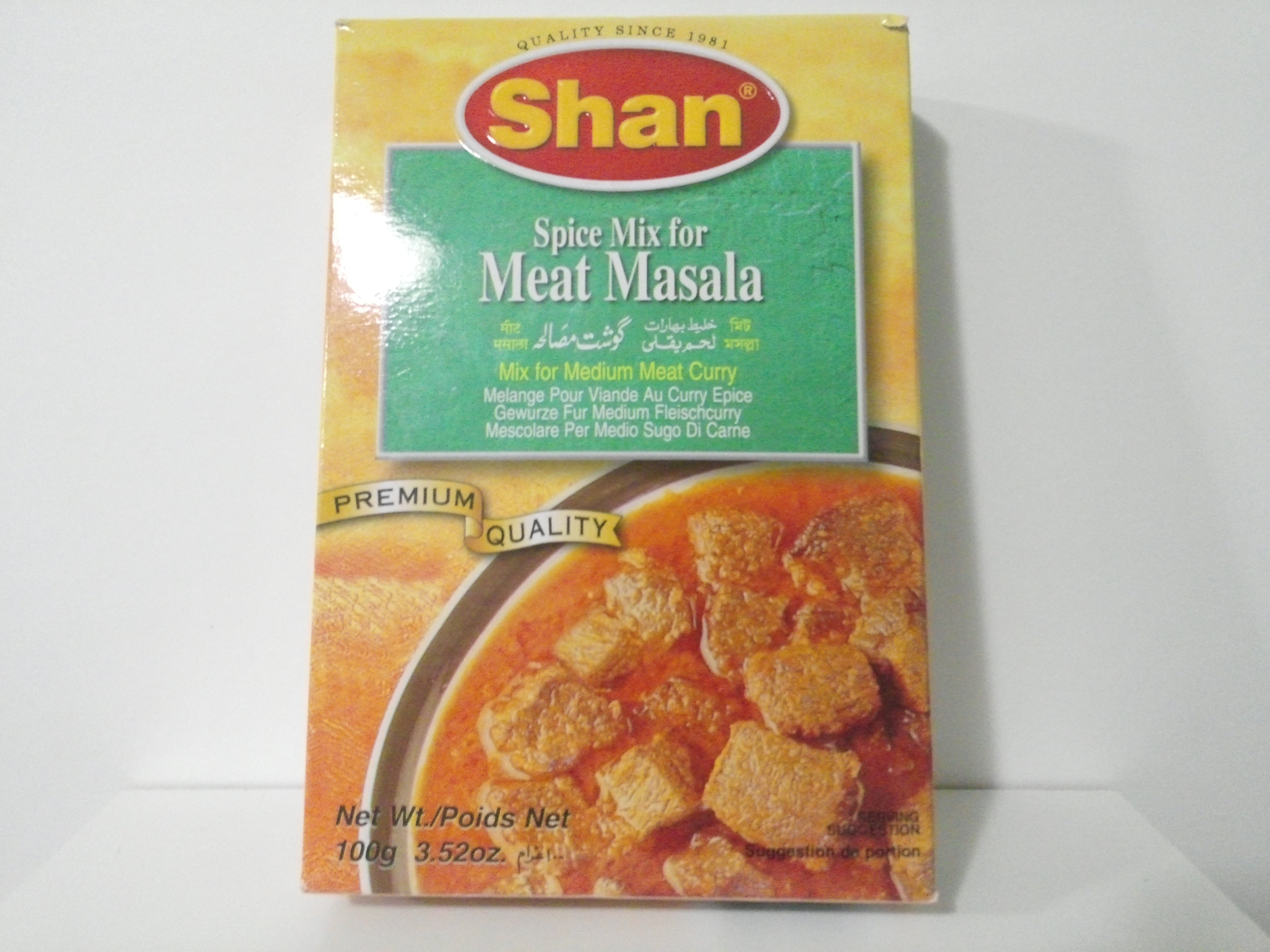 Shan Meat Masala Spice Mix 100 grm