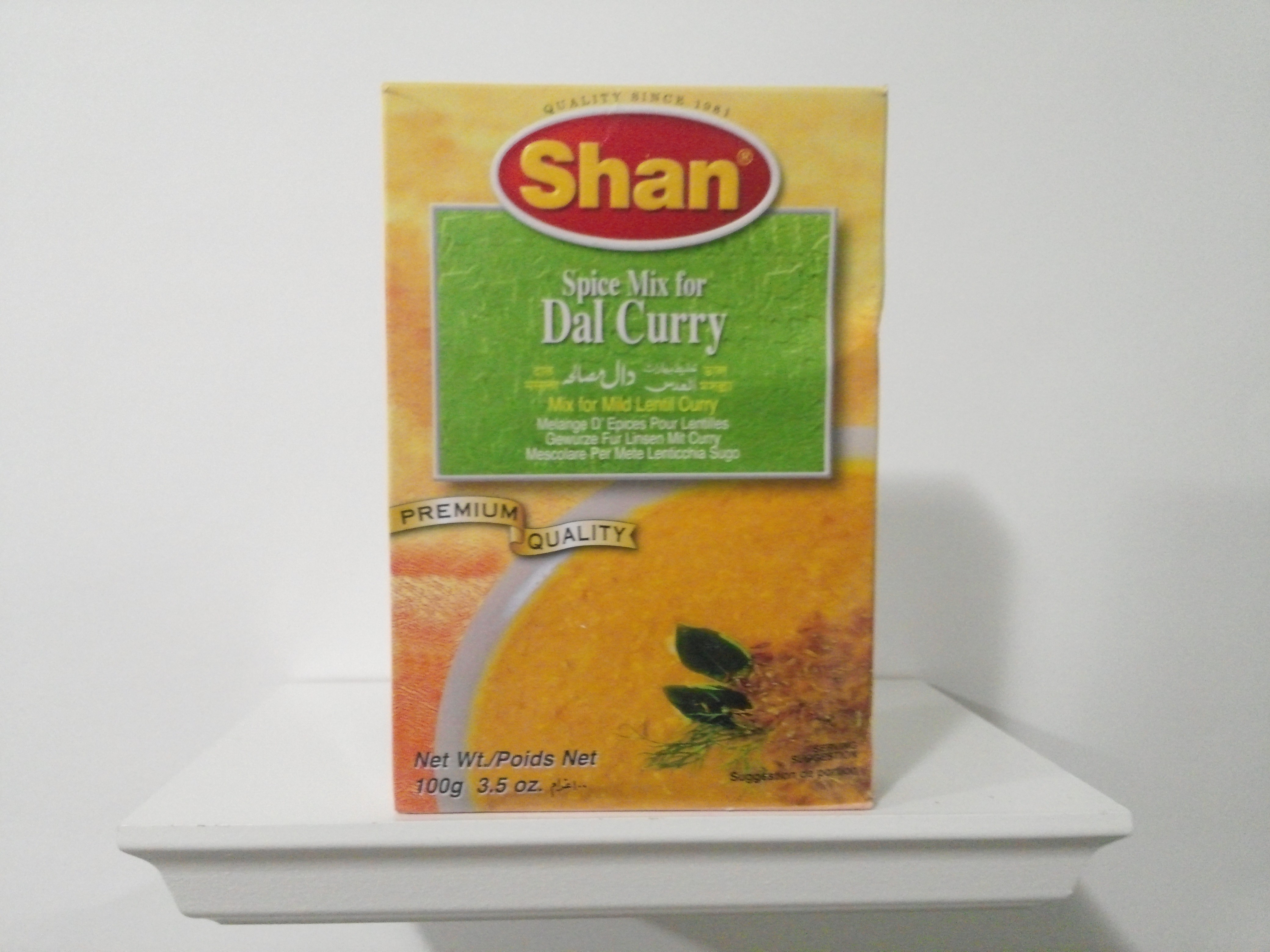 Shan Dal Curry Spice Mix 100 grm