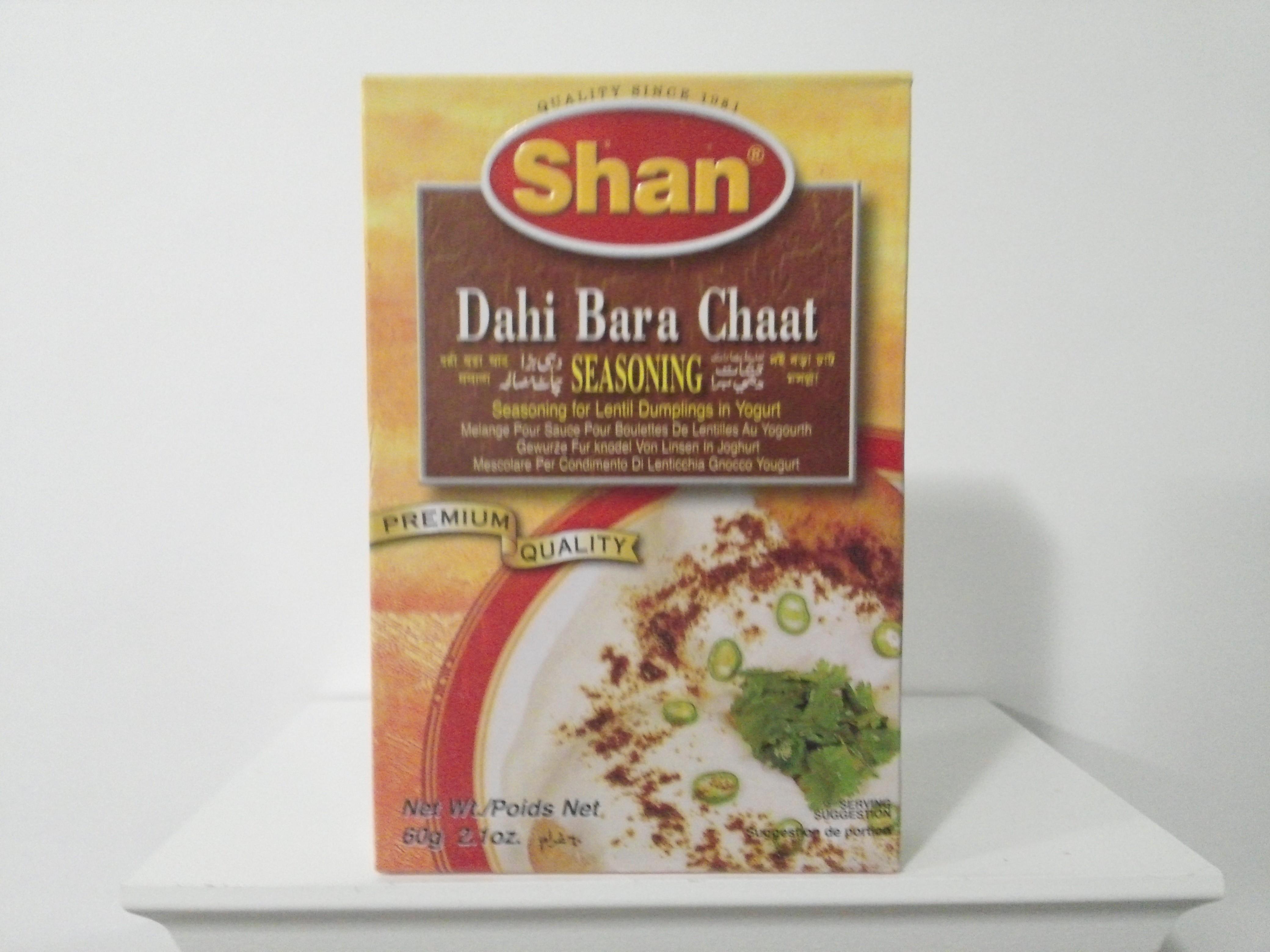 Shan Dahi Bara Chaat Spice Mix 60 grm