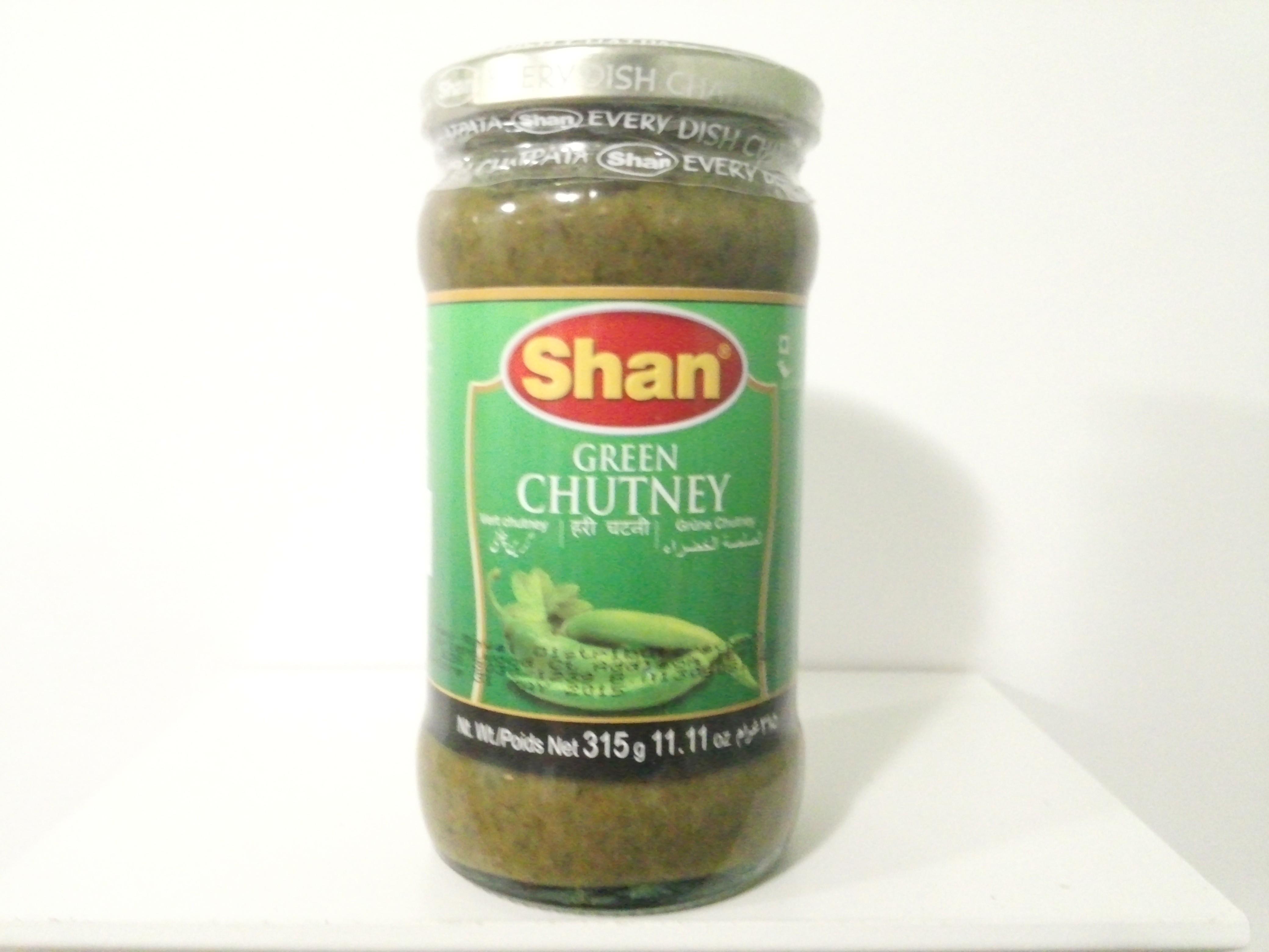 Shan Green Chutney 315 grm