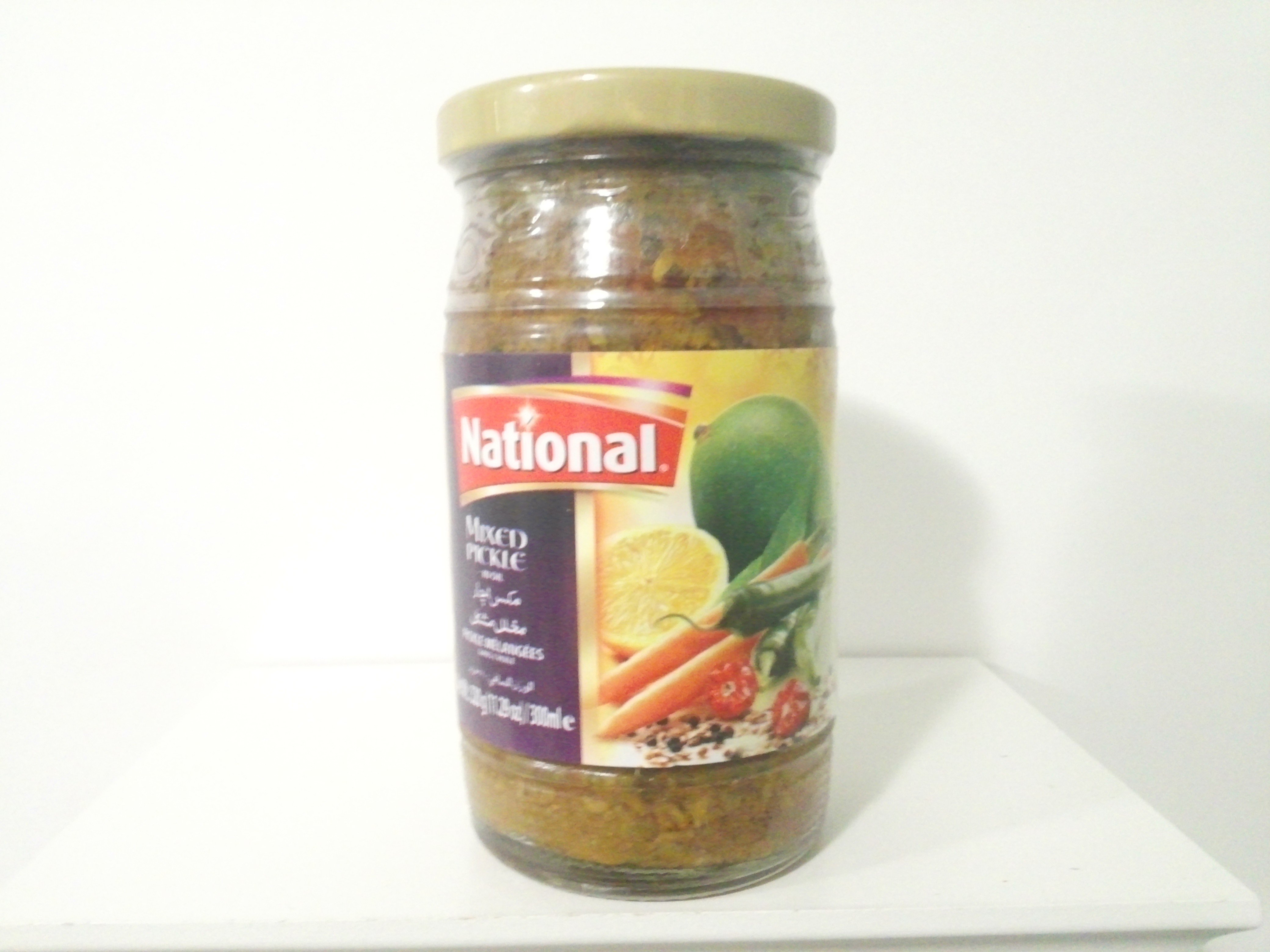 National Mixed Pickle 320 grm