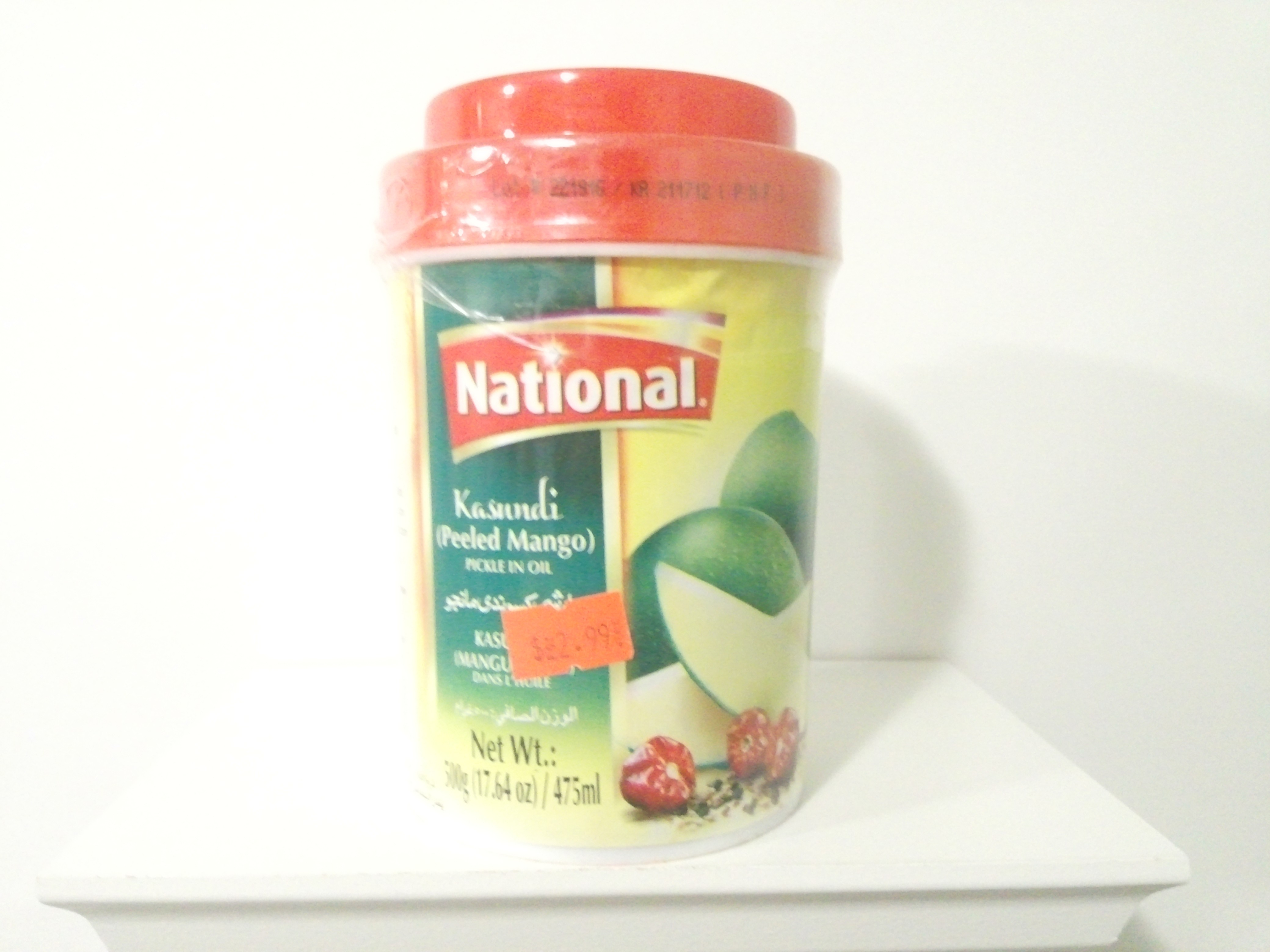 National Kasundi Pickle 500 grm