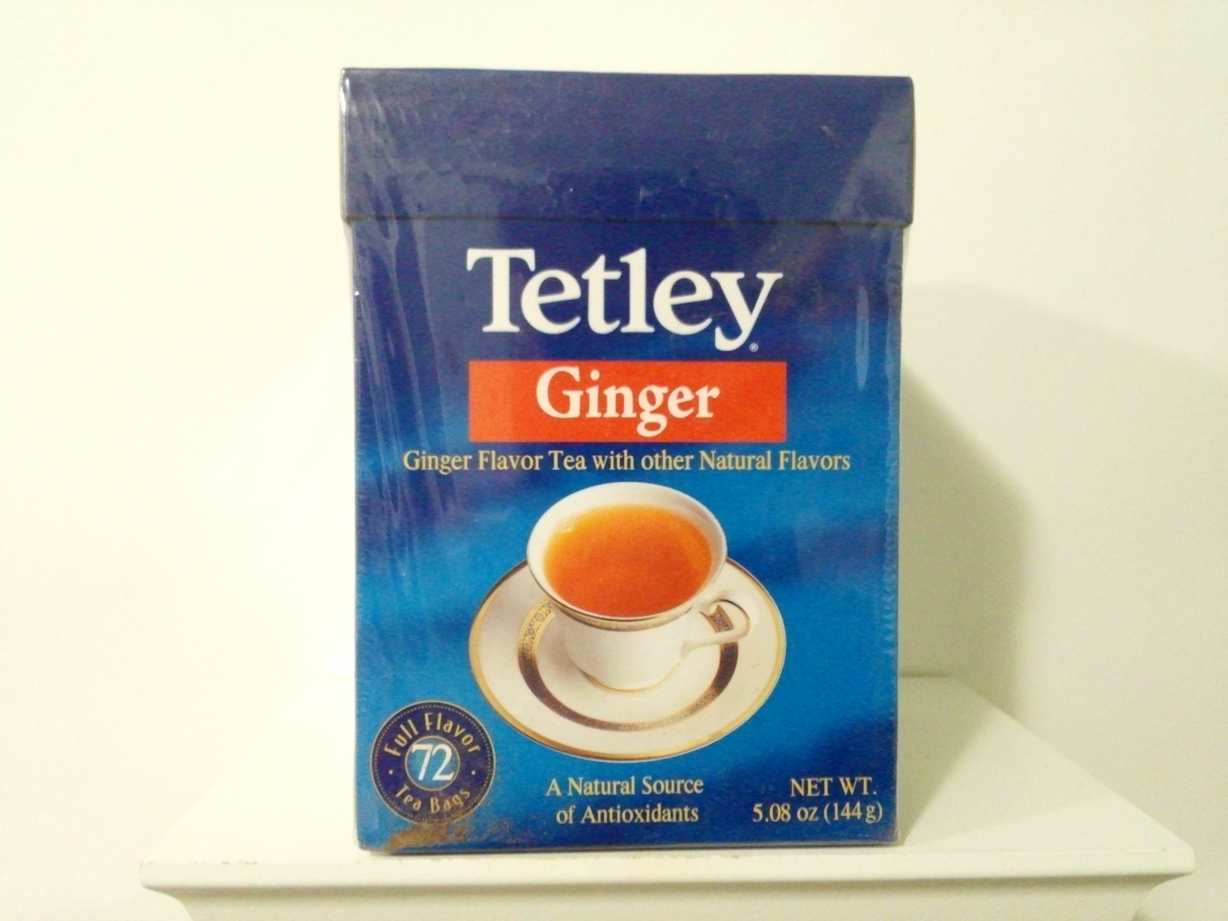 Tetley Ginger Flavour Tea 72 Bags