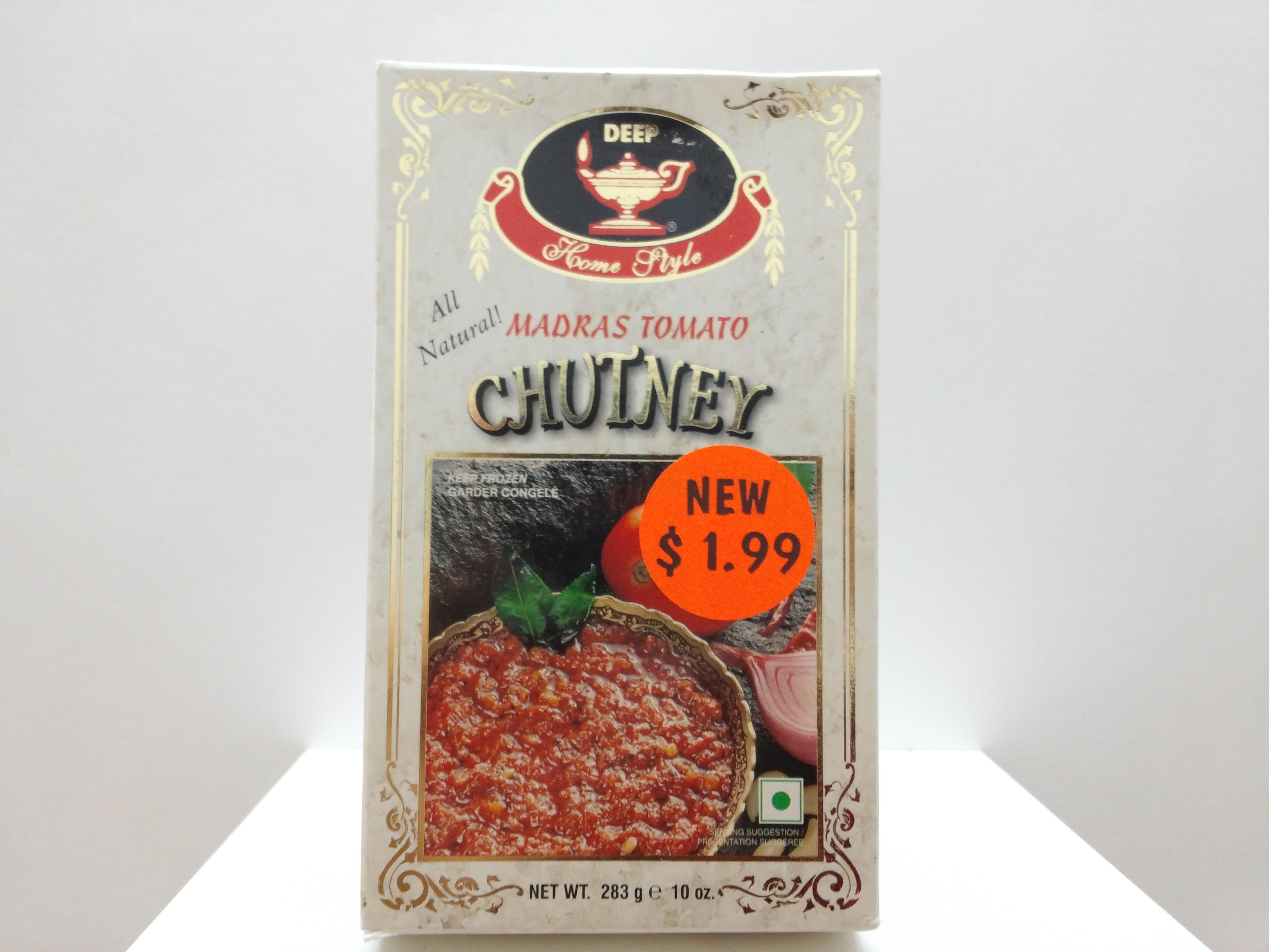 Deep Madras Tomato Chutney(Frozen) 10 oz