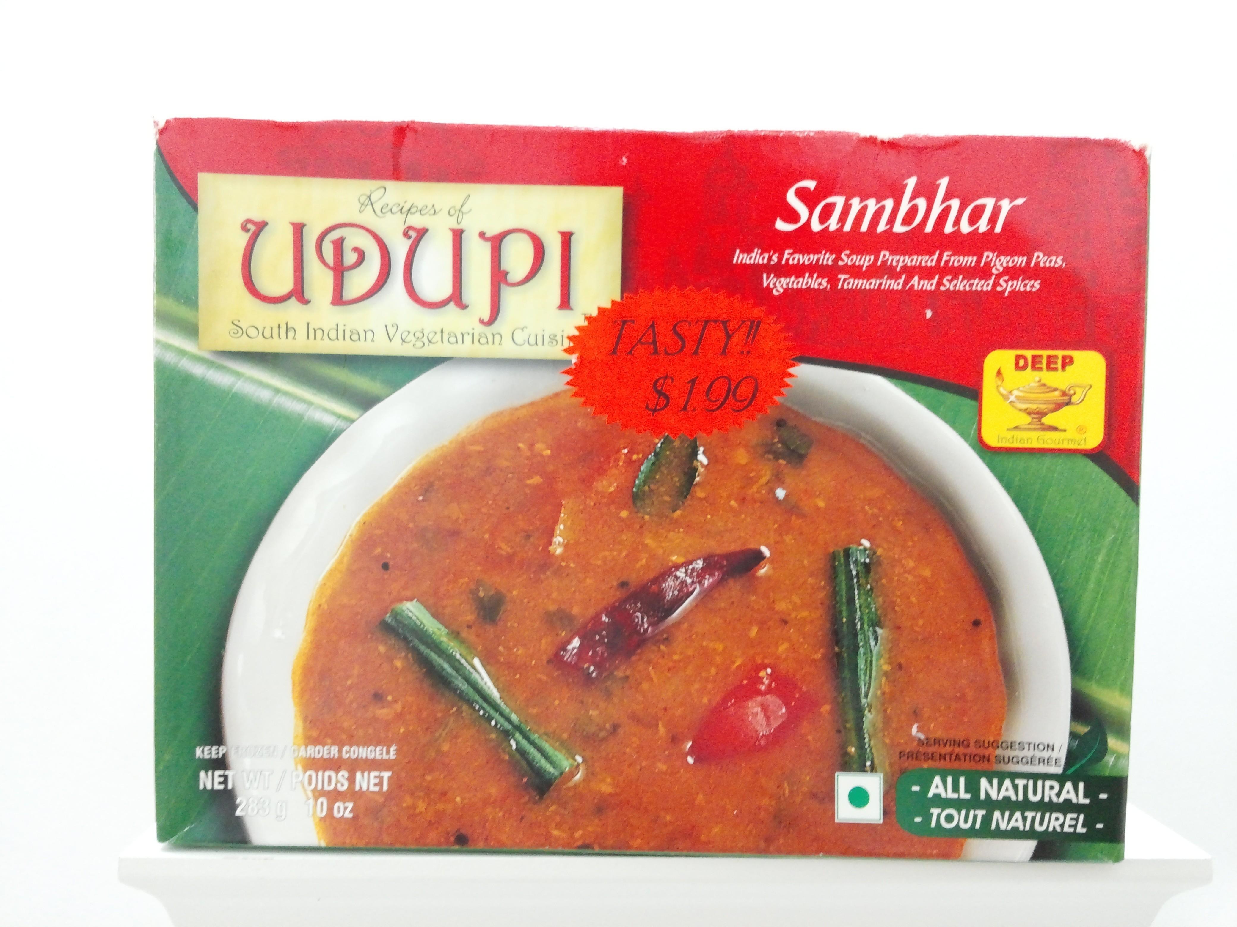 Udupi Sambhar 10 oz