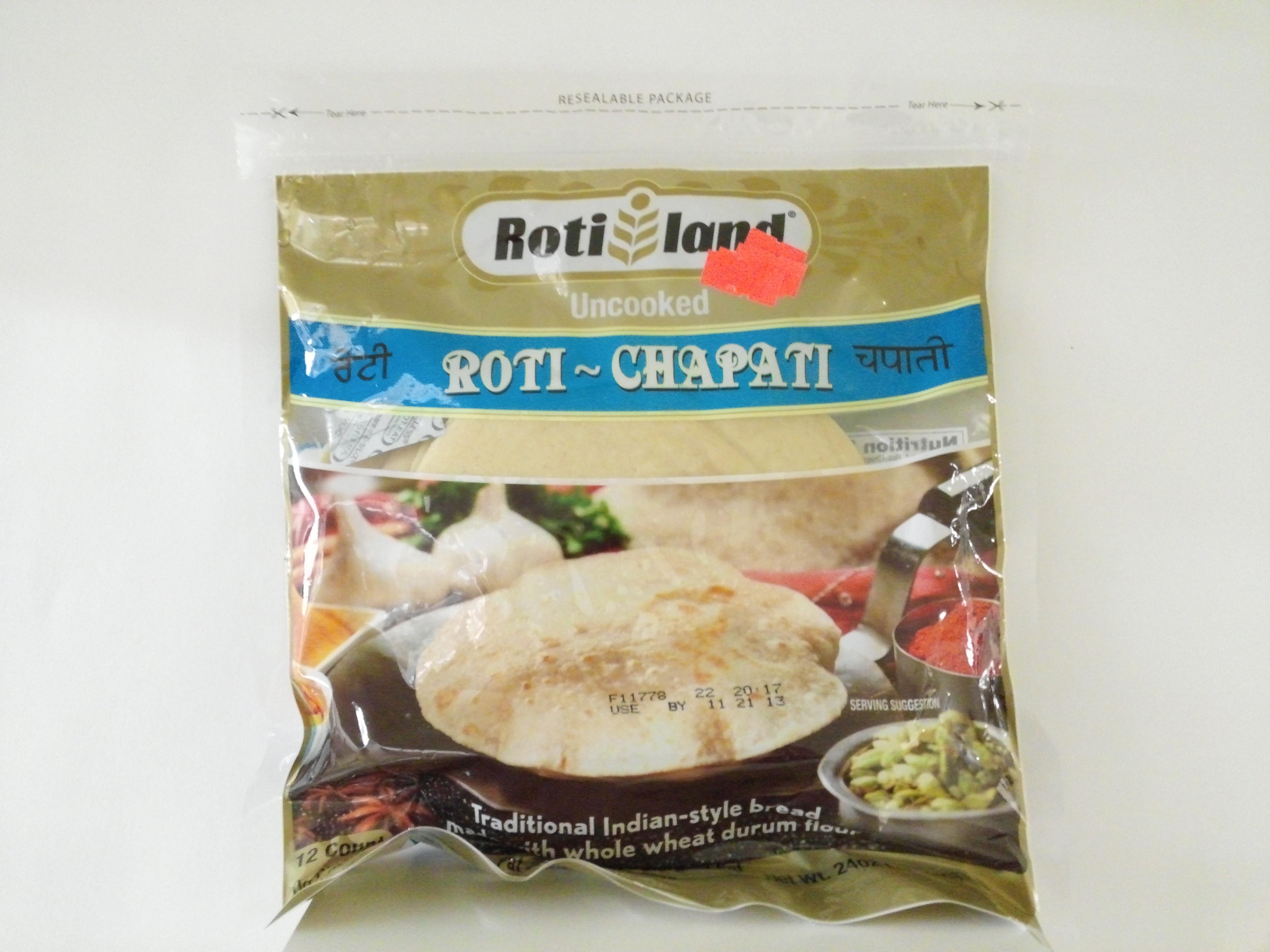 Rotil Fresh Uncooked Roti 12 pcs 23 oz