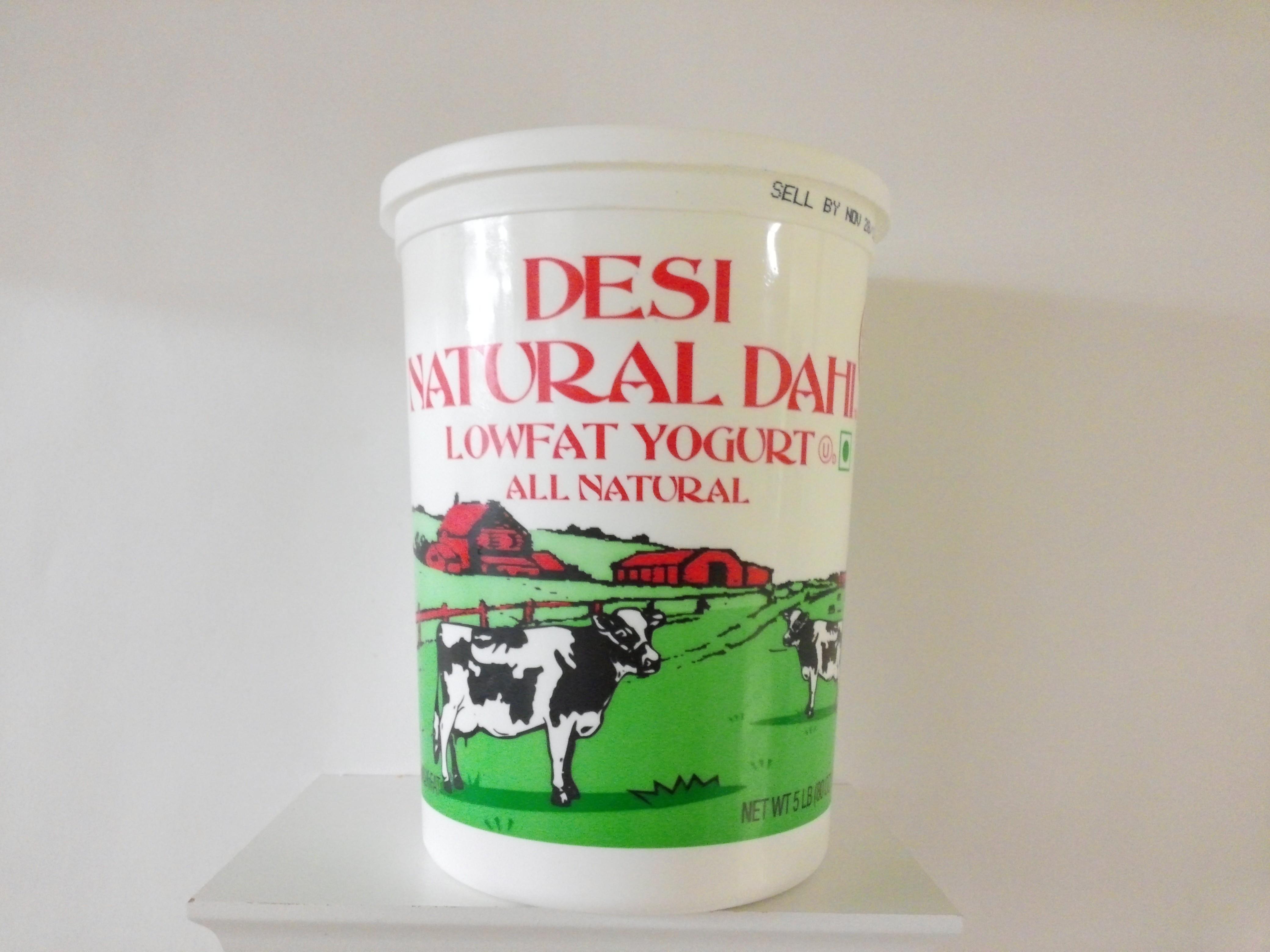 Desi Low Fat Yogurt 5 lbs