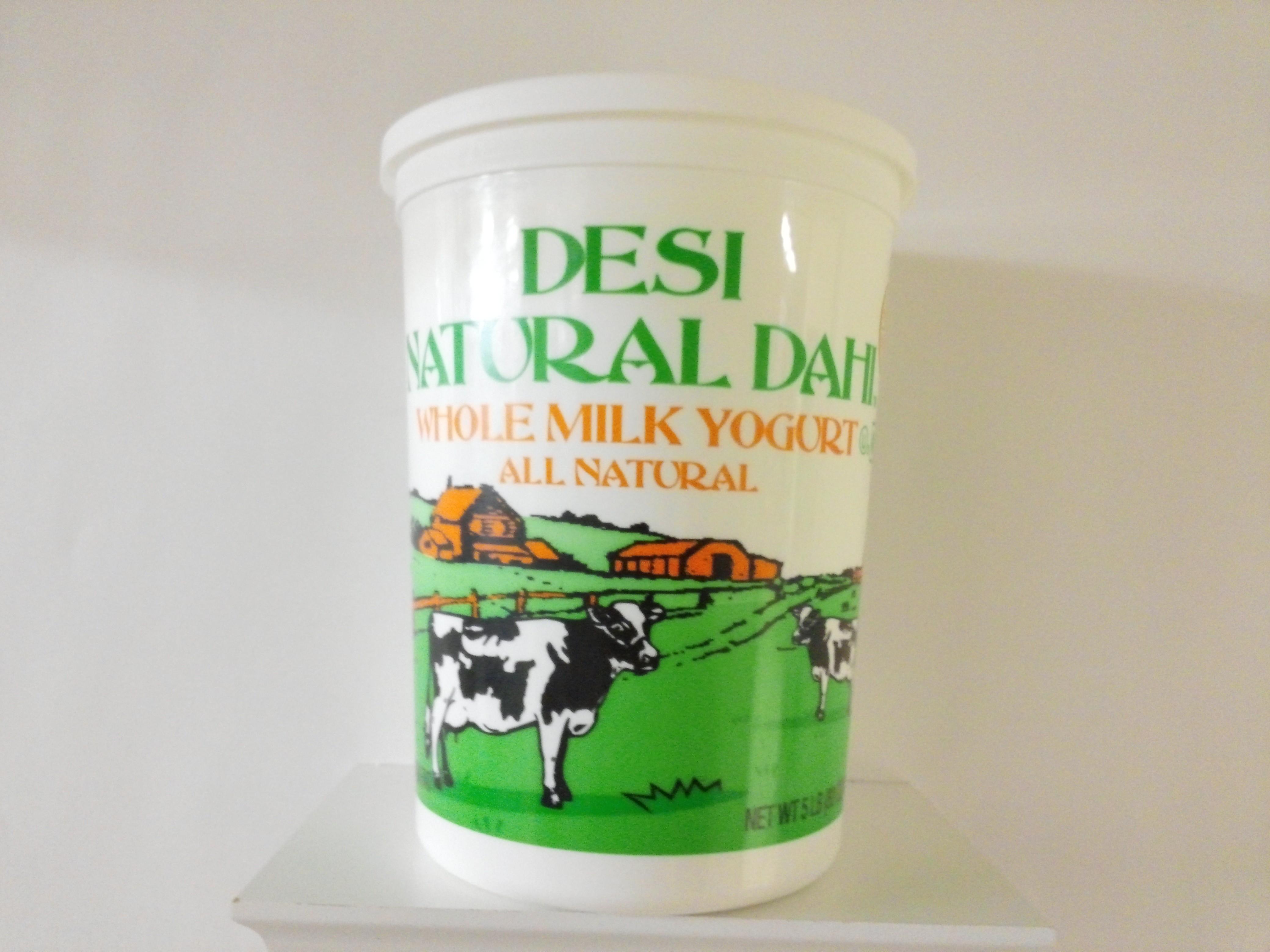 Desi Whole Milk Yogurt 5 lbs