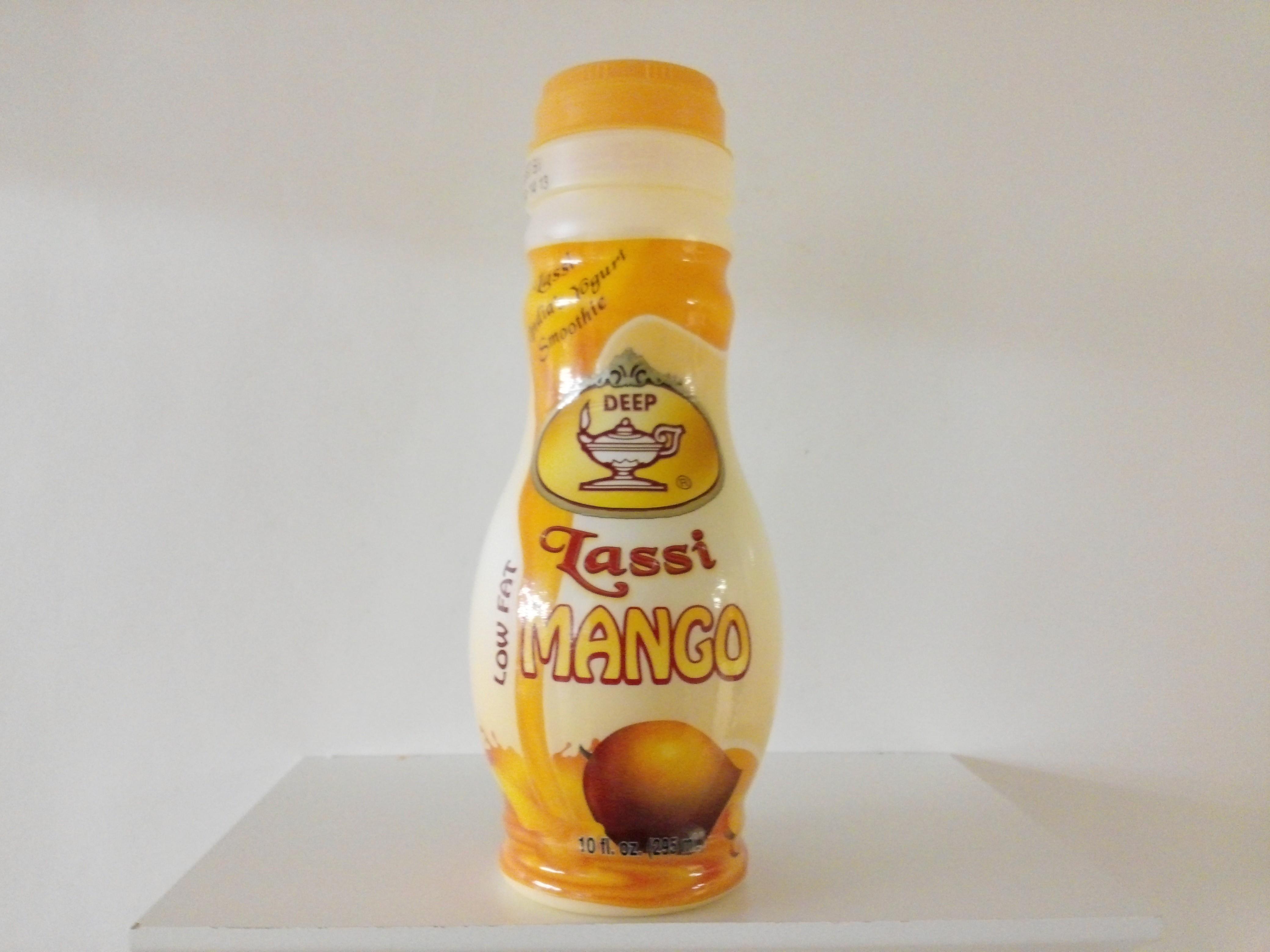 Deep Low Fat Lassi Mango 10 oz