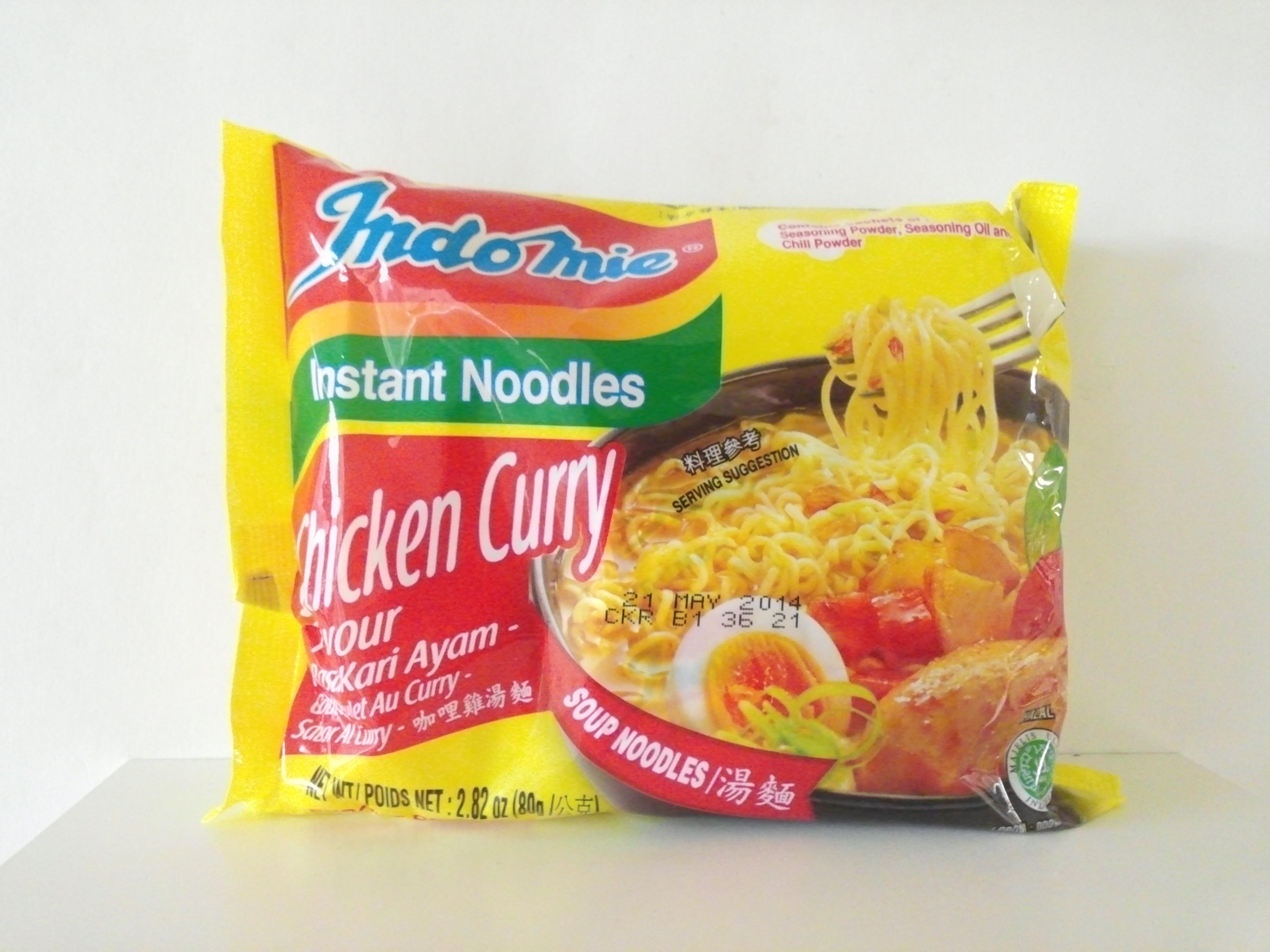 Indomie Chicken Curry Flavour Instant Noodles 2.82 oz