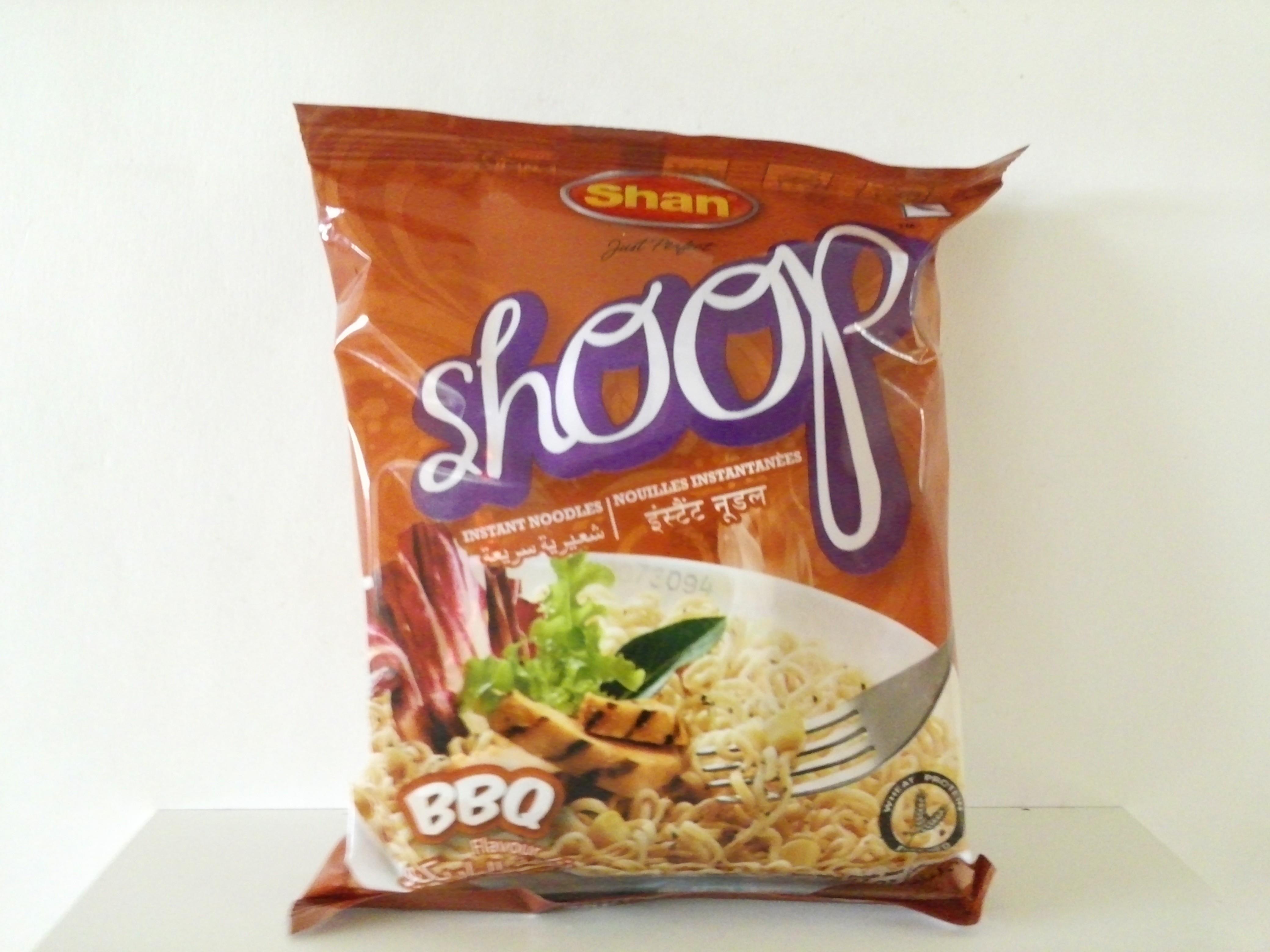 Shoop Instant Noodles BBQ Flavour 70 grm