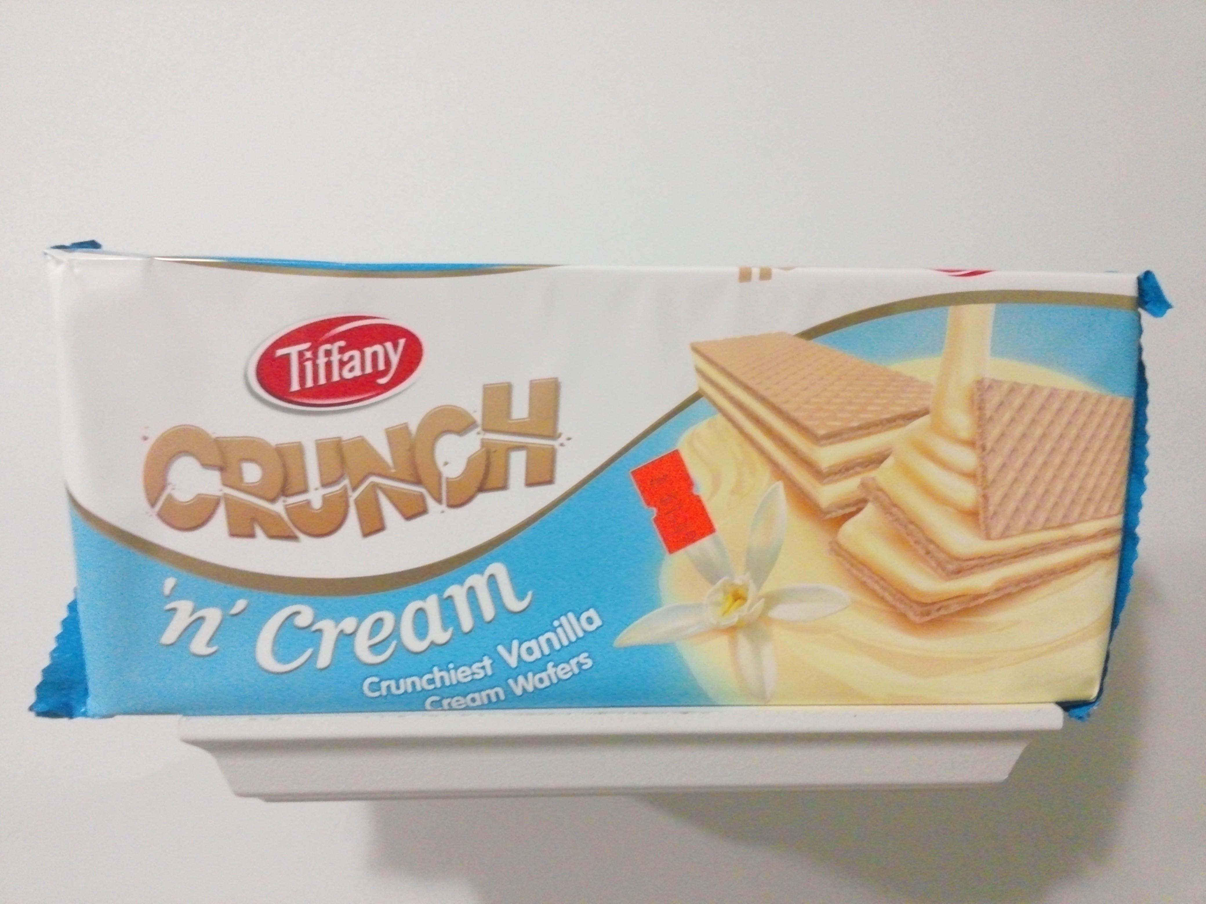 Tiffany Crunchiest Vanilla Cream Wafers 5.38 oz