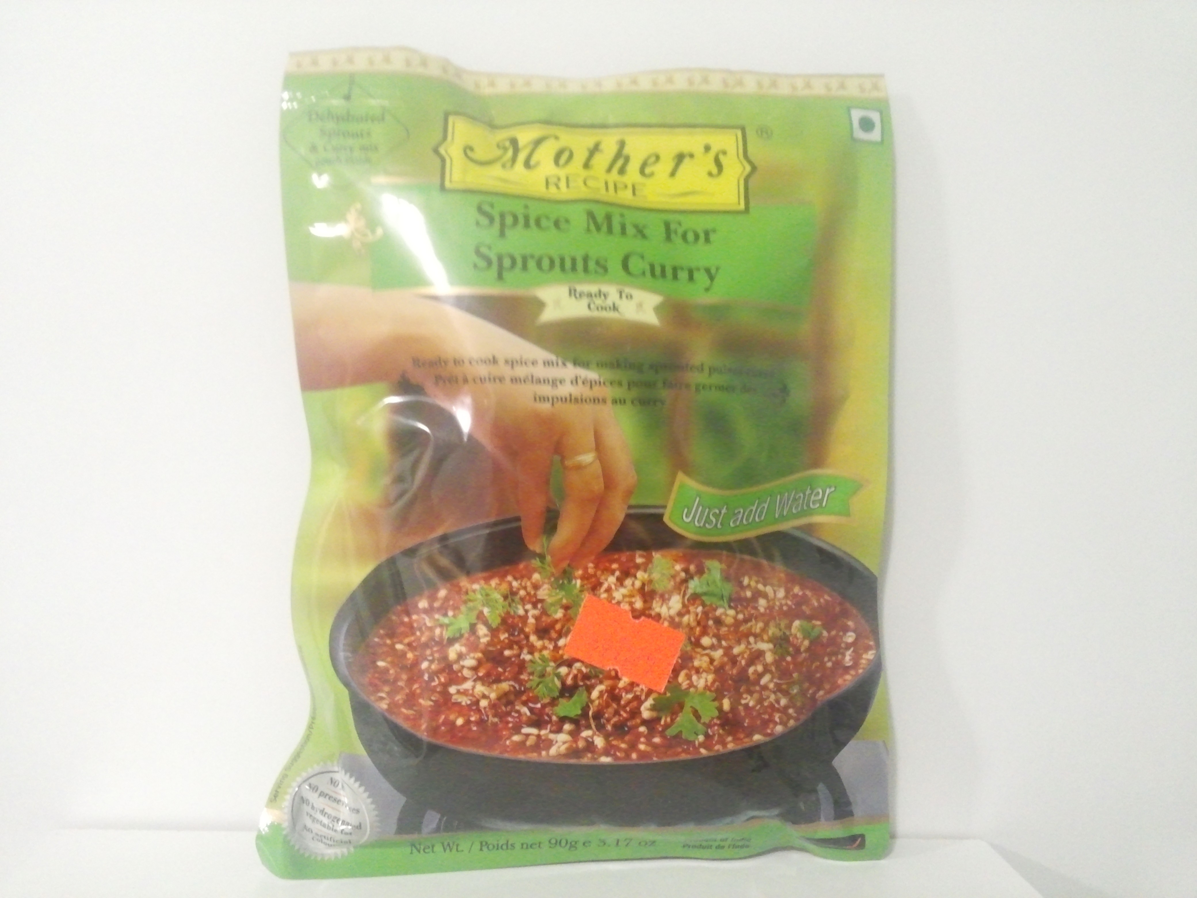 Mother's Sprouts Curry Mix 90 grm