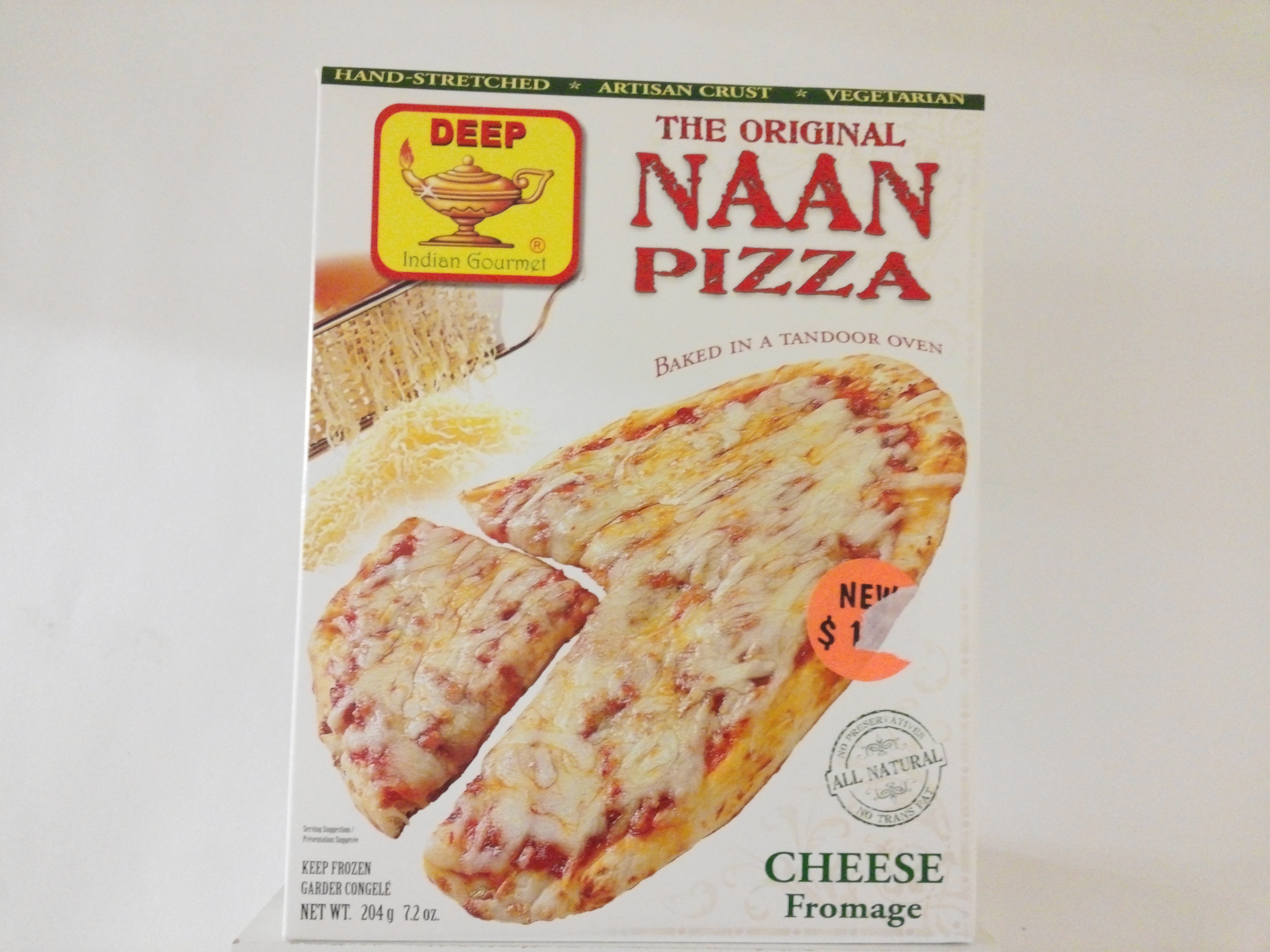 Deep's The Original Pizza ( Cheese Fromage )  7.2 oz