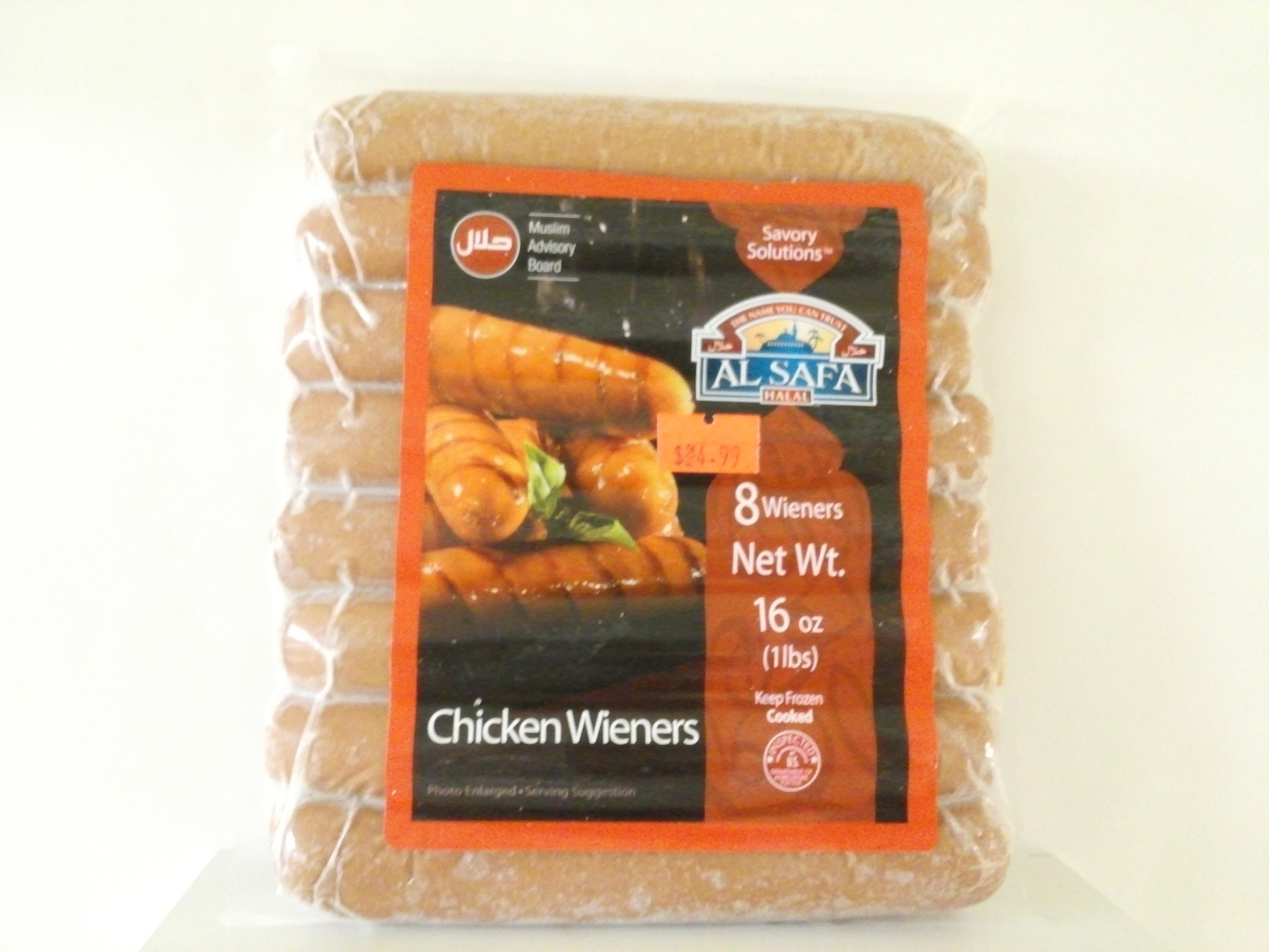 Al Safa Chicken Wieners 16 oz