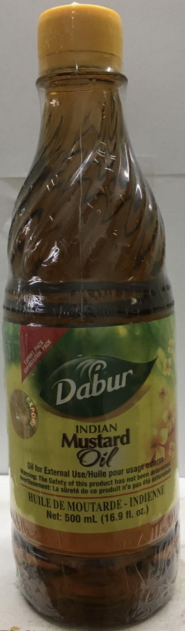 Dabur Indian Mustard Oil 16.9 oz