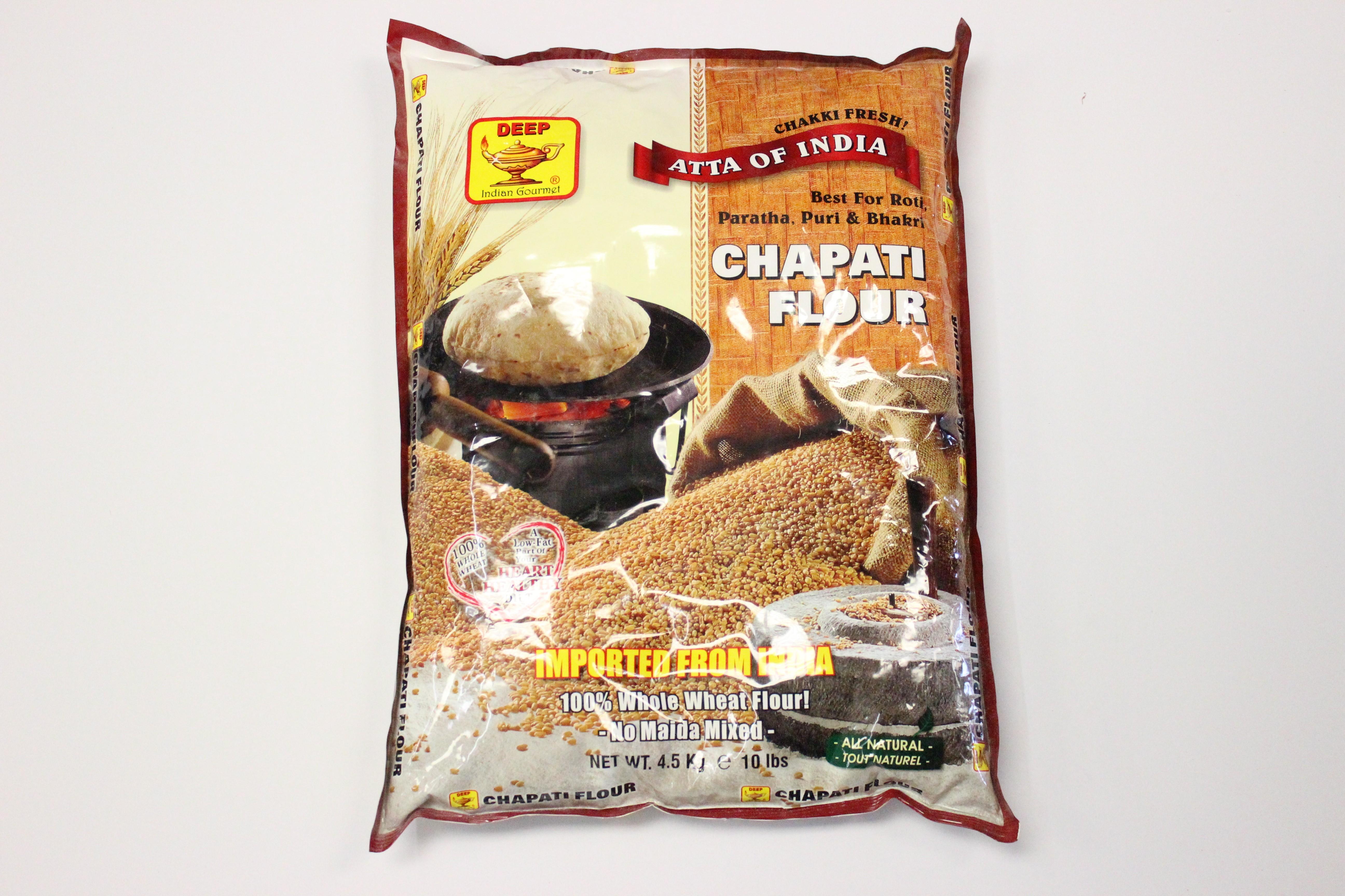 Deep Whole Wheat Chapati Flour 10 lbs