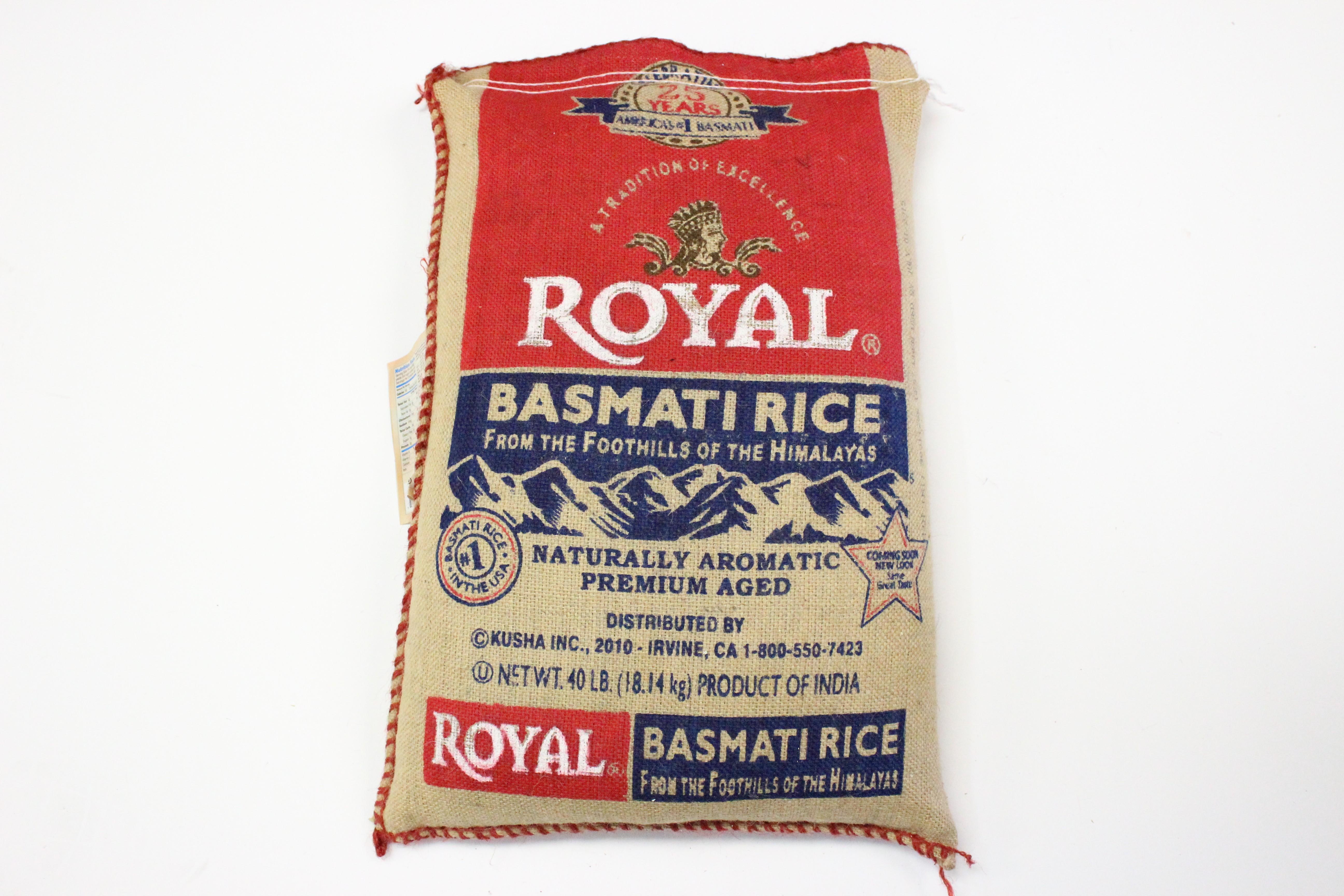 Royal Basmati Rice 40lb