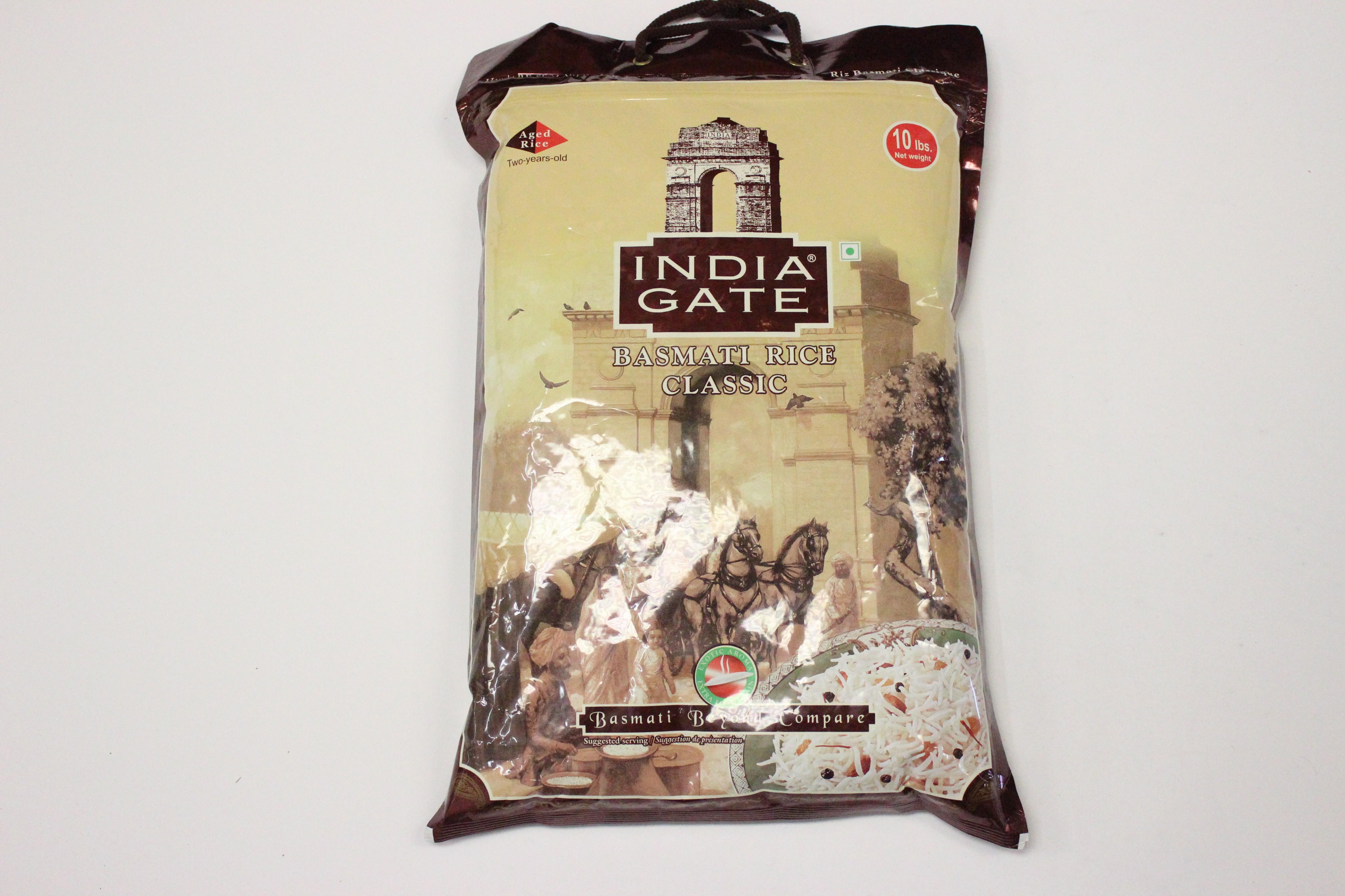 India Gate Classic Basmati Rice 10lb
