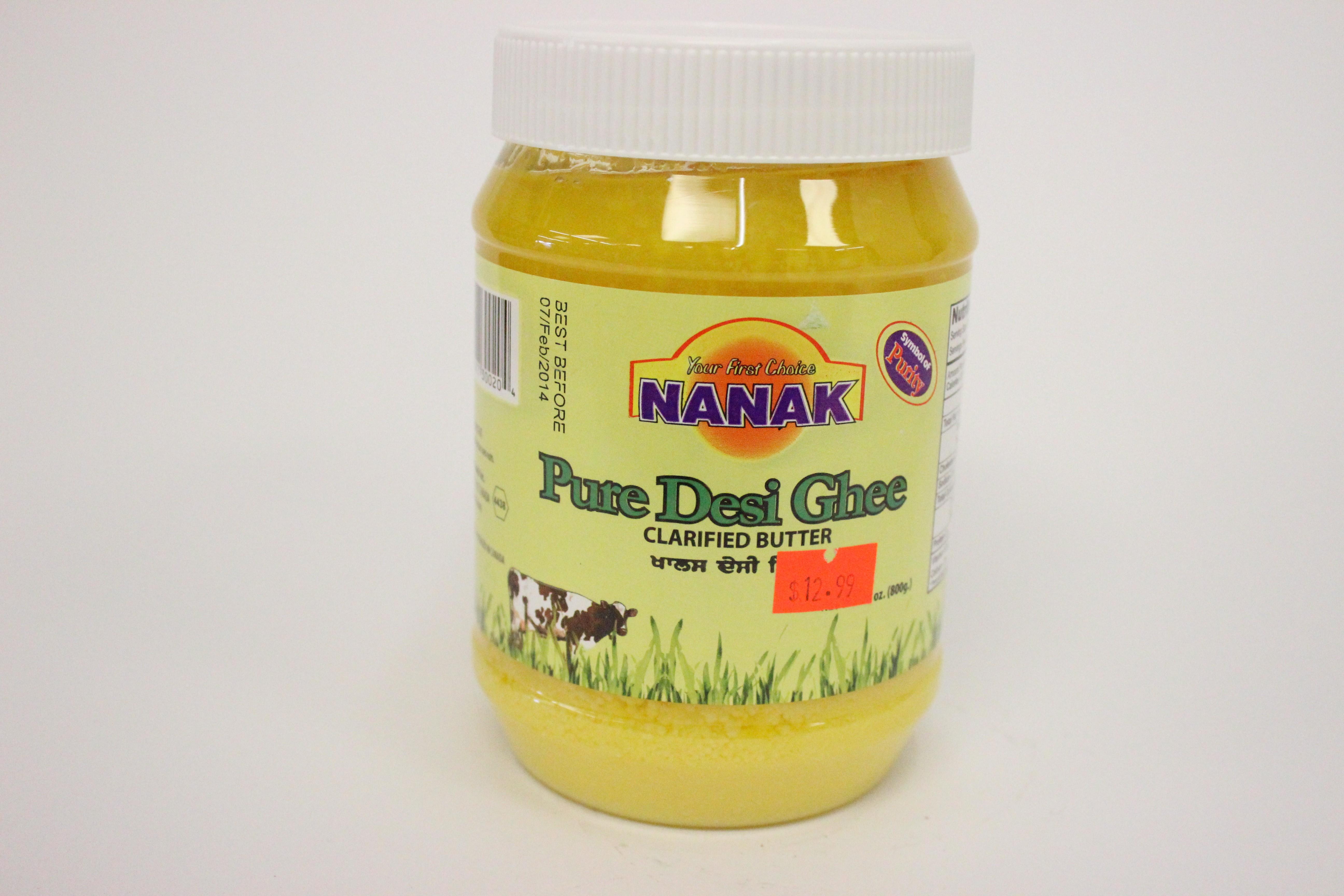 Nanak Pure Desi Ghee 28 oz