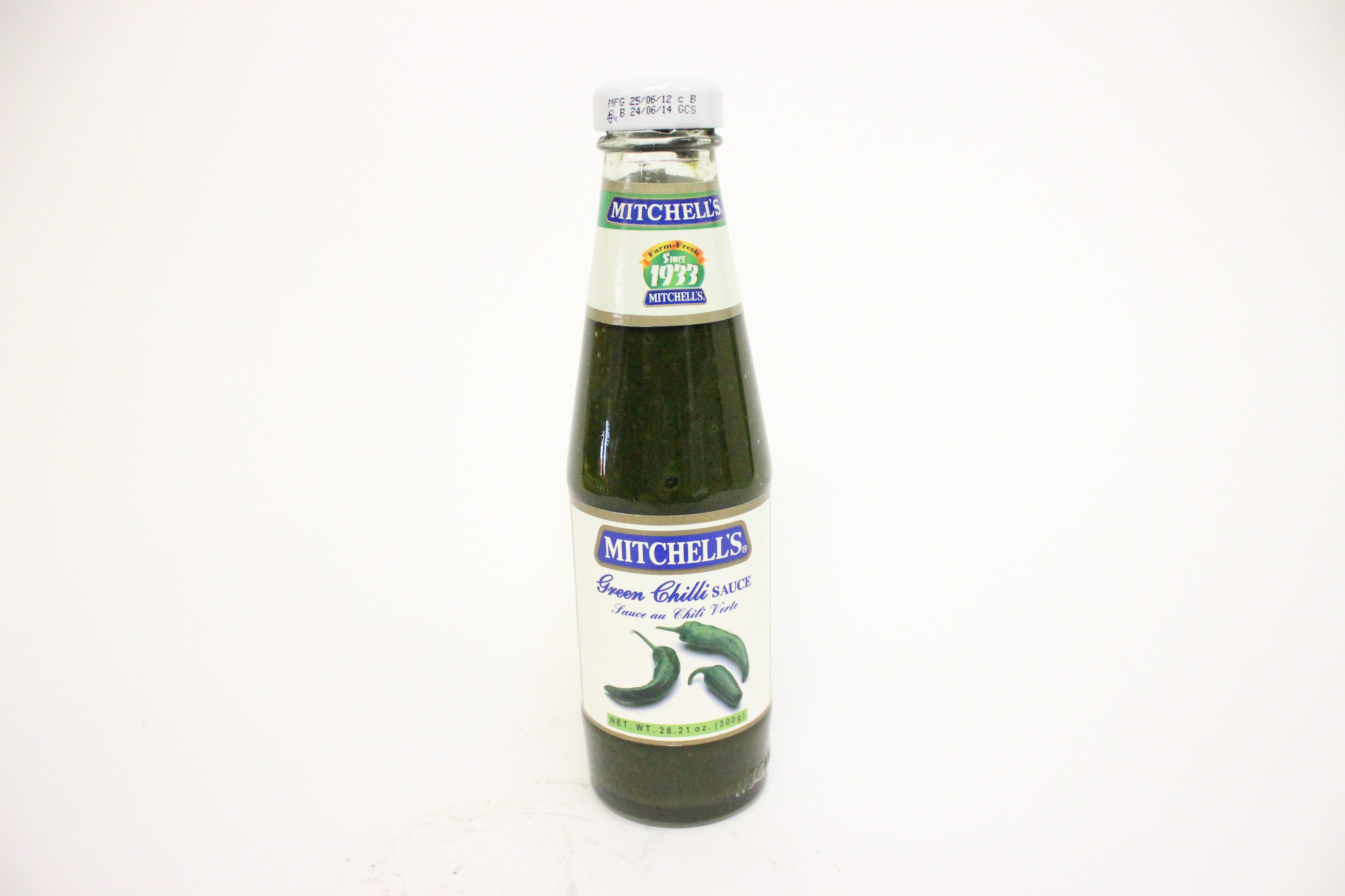Mitchell's Green Chilli Sauce 28.21 oz